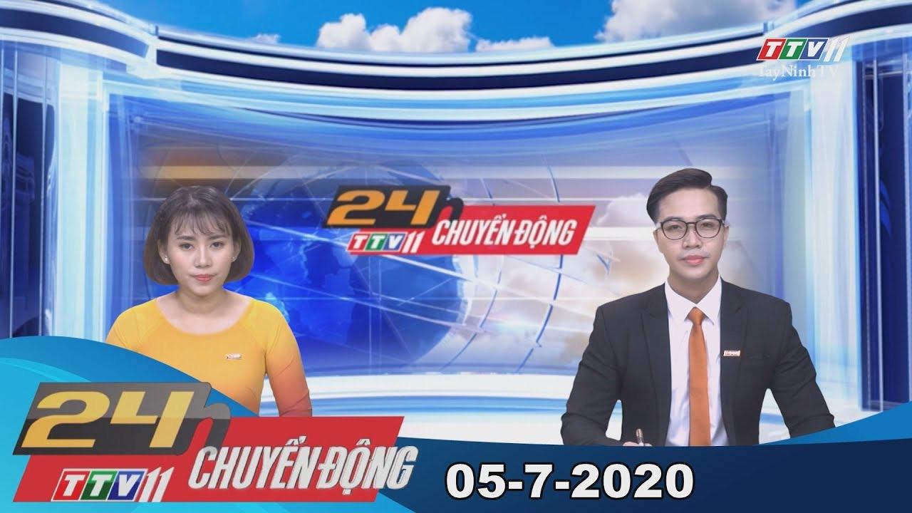24h Chuyển động 05-7-2020 | Tin tức hôm nay | TayNinhTV