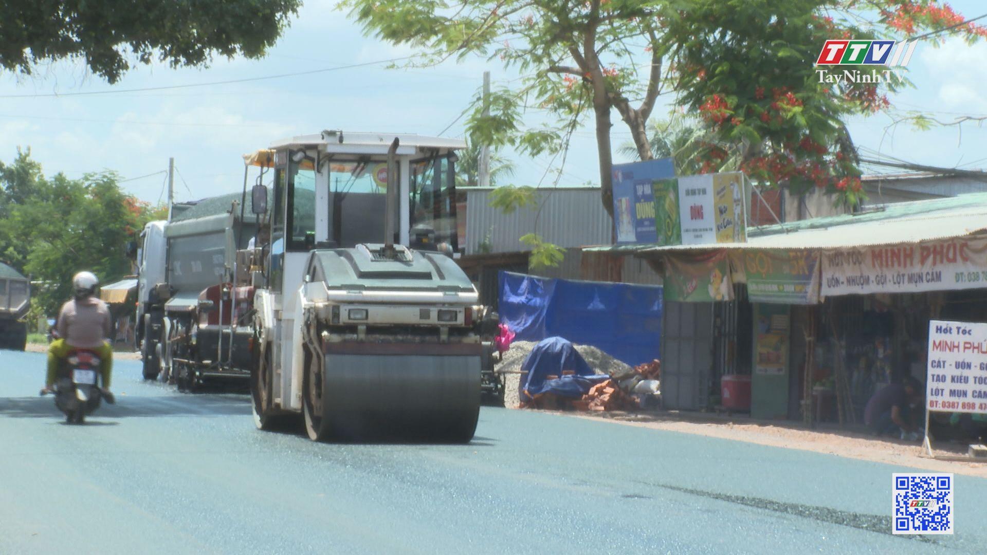 Tập trung xây dựng kết cấu hạ tầng giao thông nông thôn | TÂY NINH XÂY DỰNG NÔNG THÔN MỚI | TayNinhTV