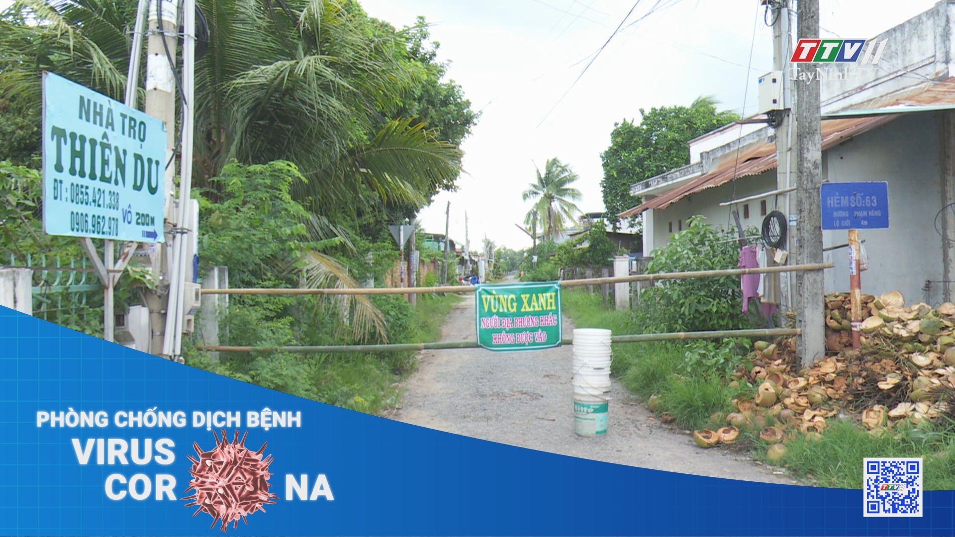 Thị xã Hòa Thành thiết lập vùng xanh chống dịch Covid-19 | THÔNG TIN DỊCH COVID-19 | TayNinhTV