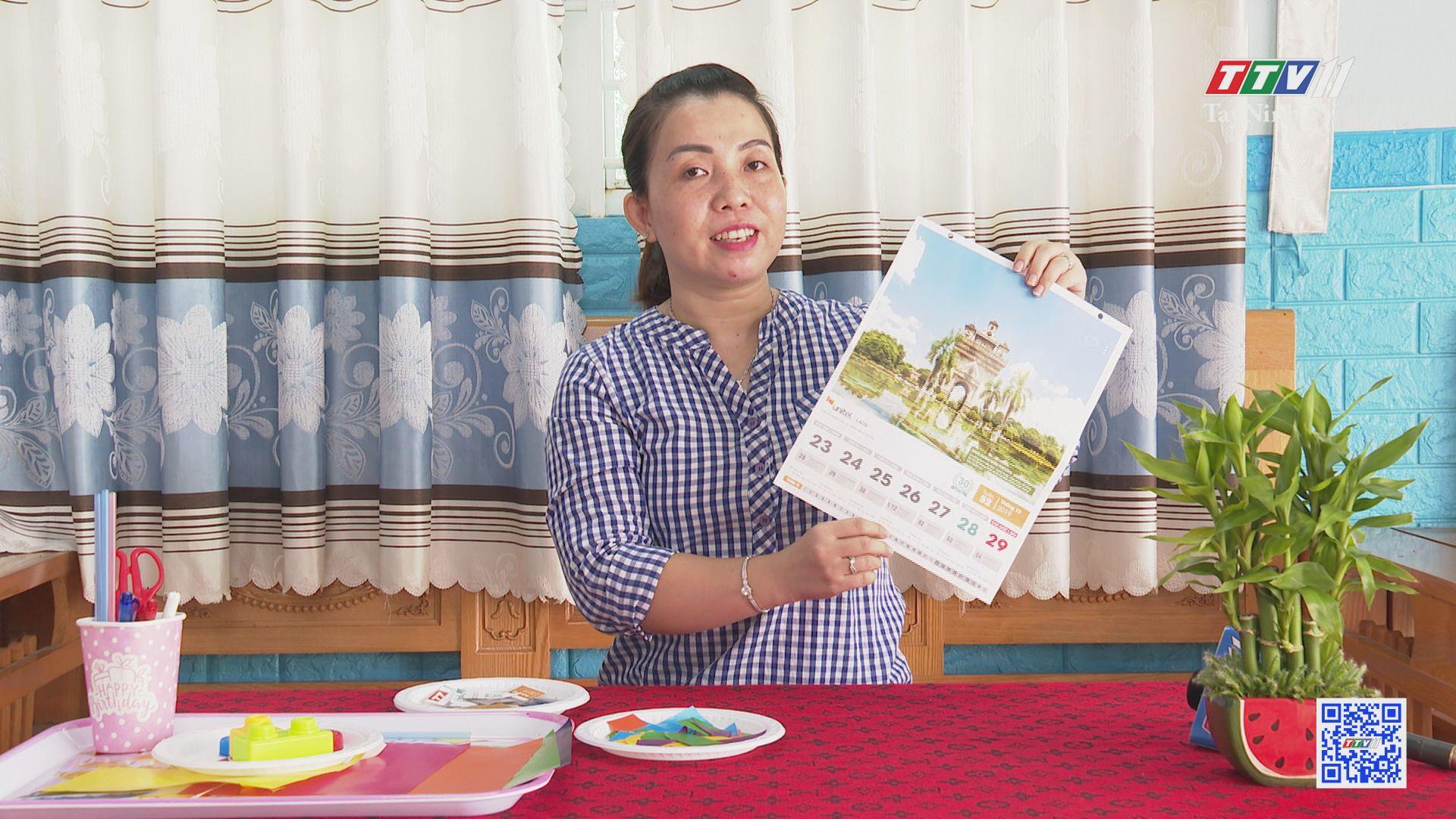 Bé chơi với giấy màu | TRANG TUỔI THƠ | TayNinhTV