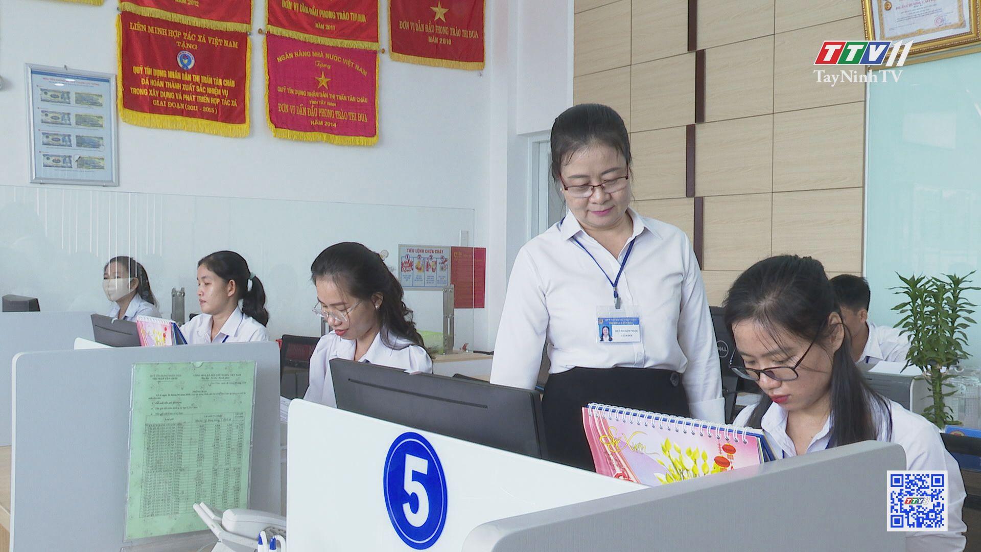 Người góp thêm chữ tín cho quỹ tín dụng nhân dân Tân Châu   THI ĐUA ÁI QUỐC   TayNinhTV