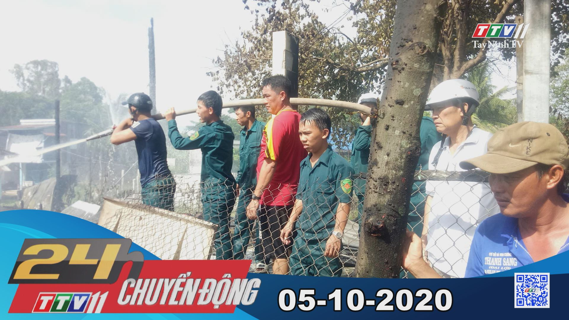 24h Chuyển động 05-10-2020 | Tin tức hôm nay | TayNinhTV
