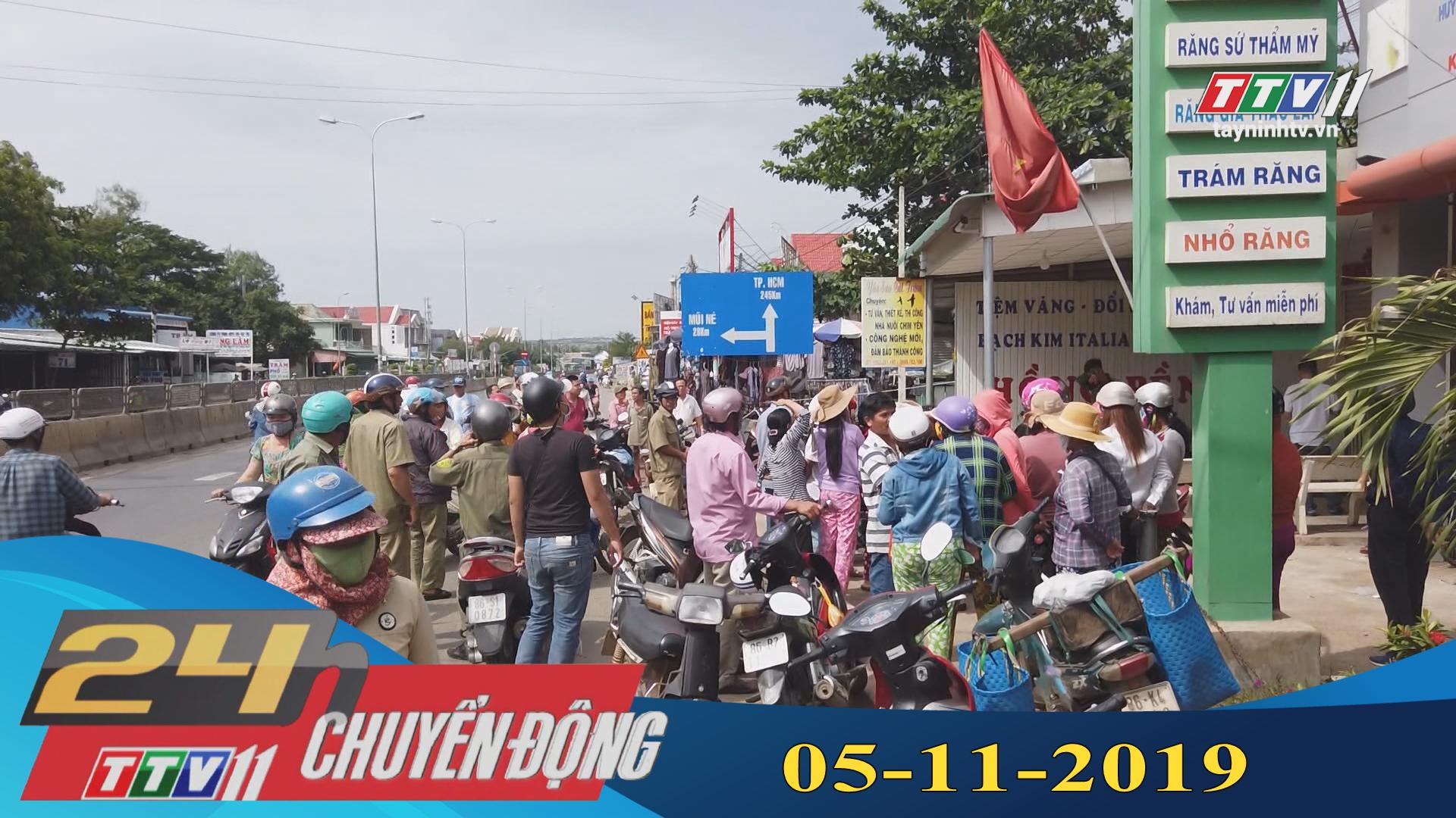 24h Chuyển động 05-11-2019 | Tin tức hôm nay | Tây Ninh TV