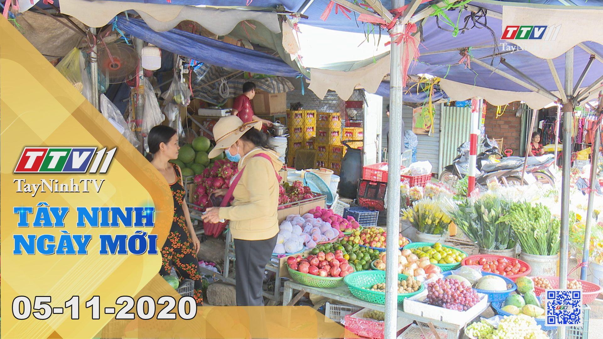 Tây Ninh Ngày Mới 05-11-2020   Tin tức hôm nay   TayNinhTV
