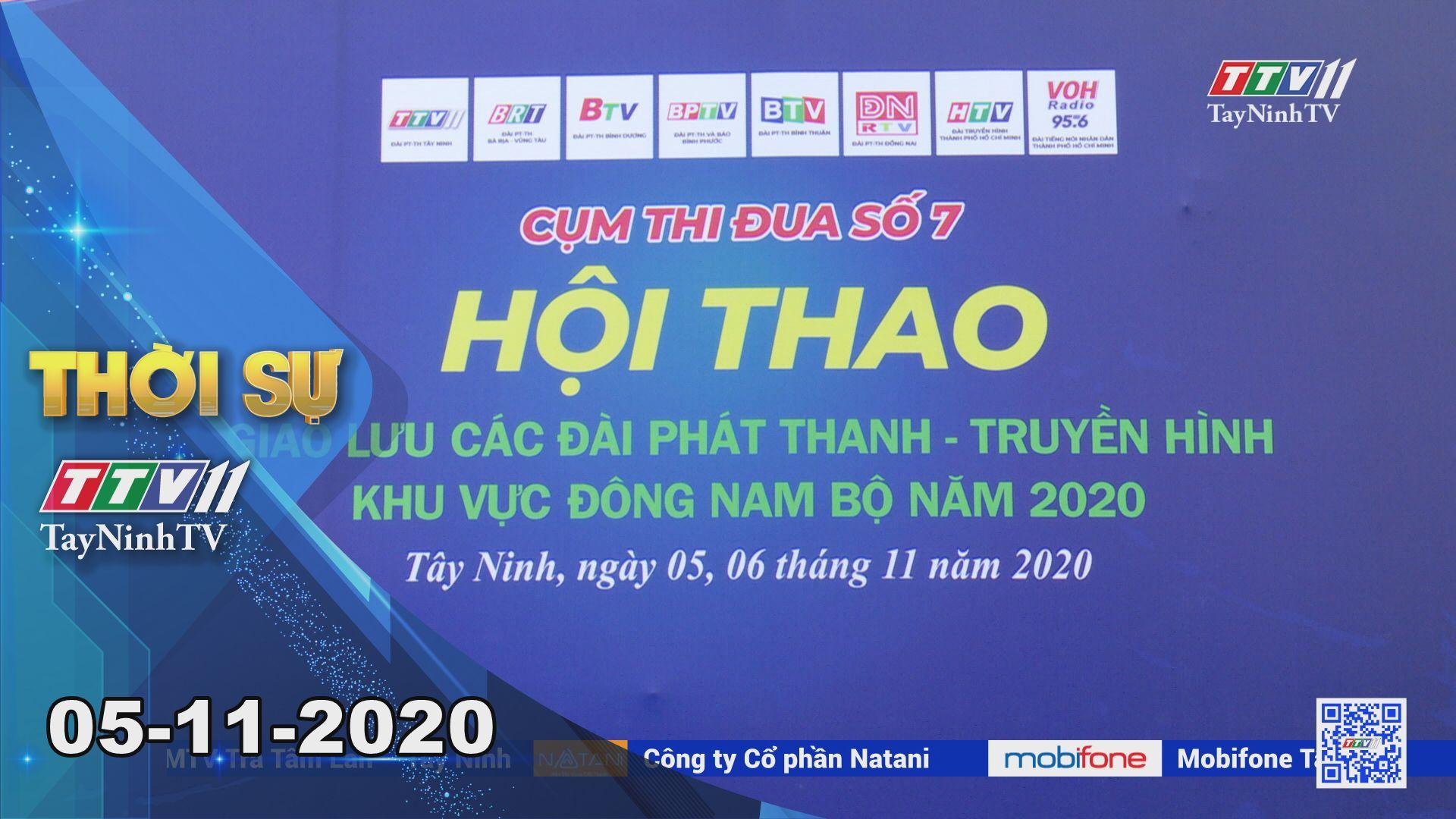 Thời sự Tây Ninh 05-11-2020   Tin tức hôm nay   TayNinhTV