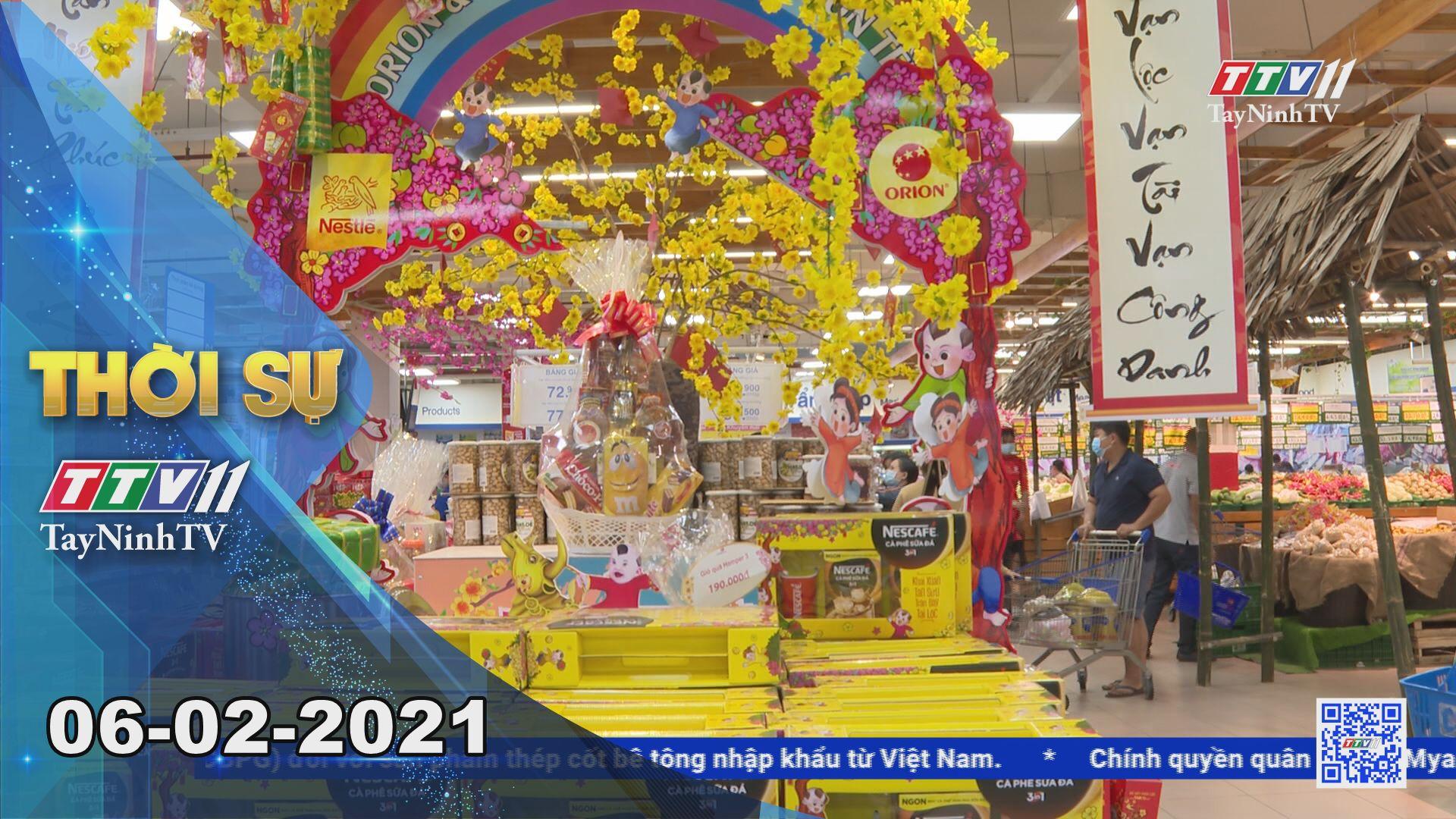 Thời sự Tây Ninh 06-02-2021   Tin tức hôm nay   TayNinhTV