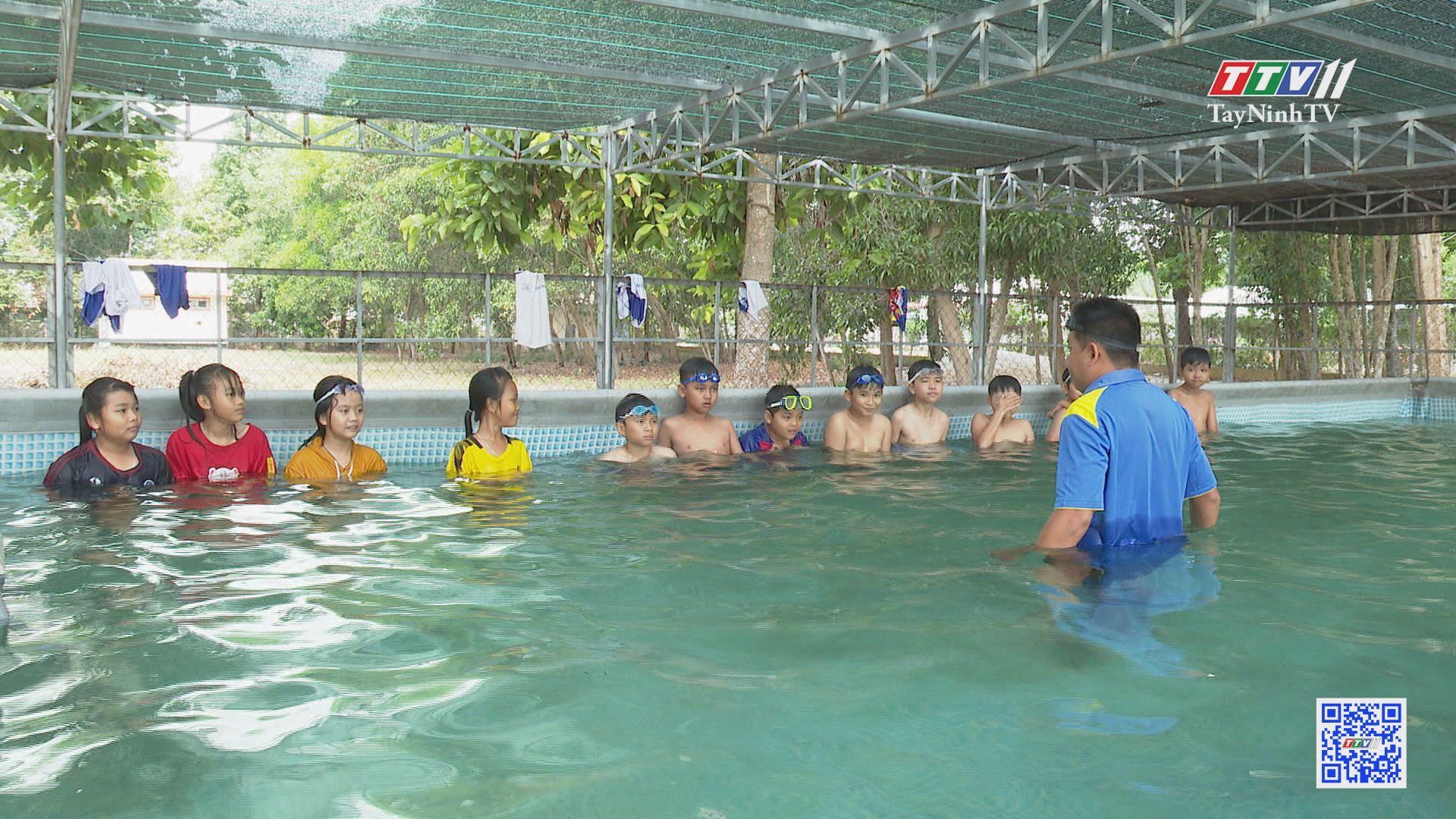 Giáo dục kỹ năng sống: phòng tránh đuối nước cho các em nhỏ | TRANG TUỔI THƠ | TayNinhTV