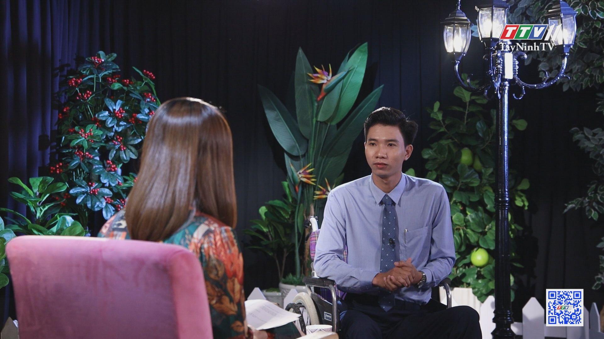 Tập 18 năm 2021_Cát Tường xúc động trước hành trình vượt qua cửa tử của thạc sĩ tâm lý Đặng Hoàng An | HẠNH PHÚC Ở ĐÂU | TayNinhTV