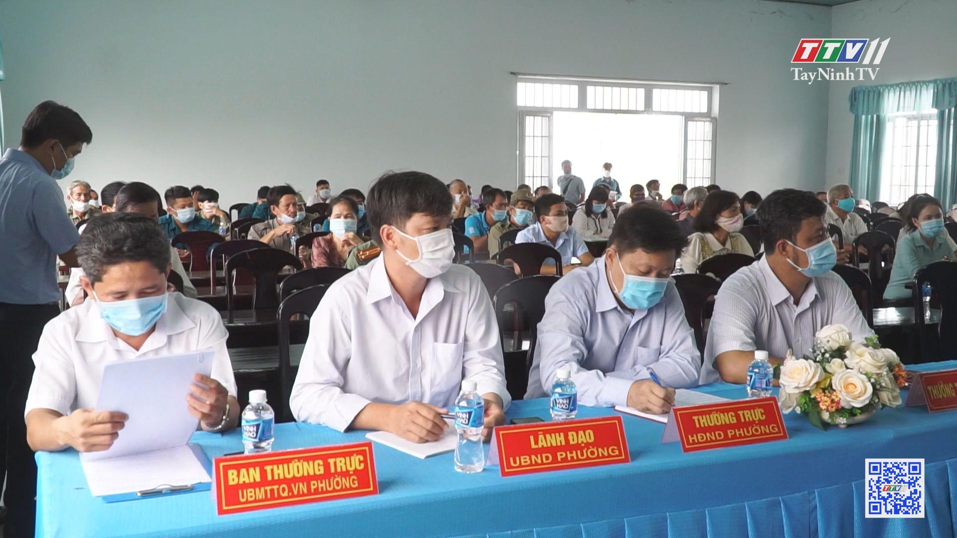 Cử tri quan tâm đến các chương trình hành động của người ứng cử   TIẾNG NÓI CỬ TRI   TayNinhTV