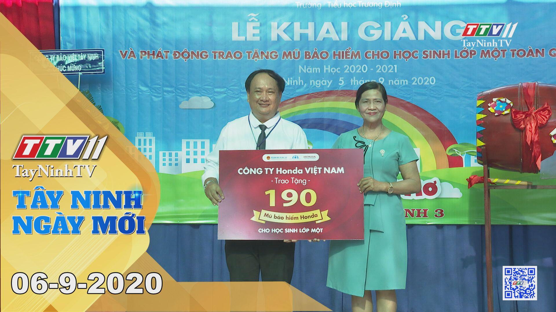 Tây Ninh Ngày Mới 06-9-2020 | Tin tức hôm nay | TayNinhTV