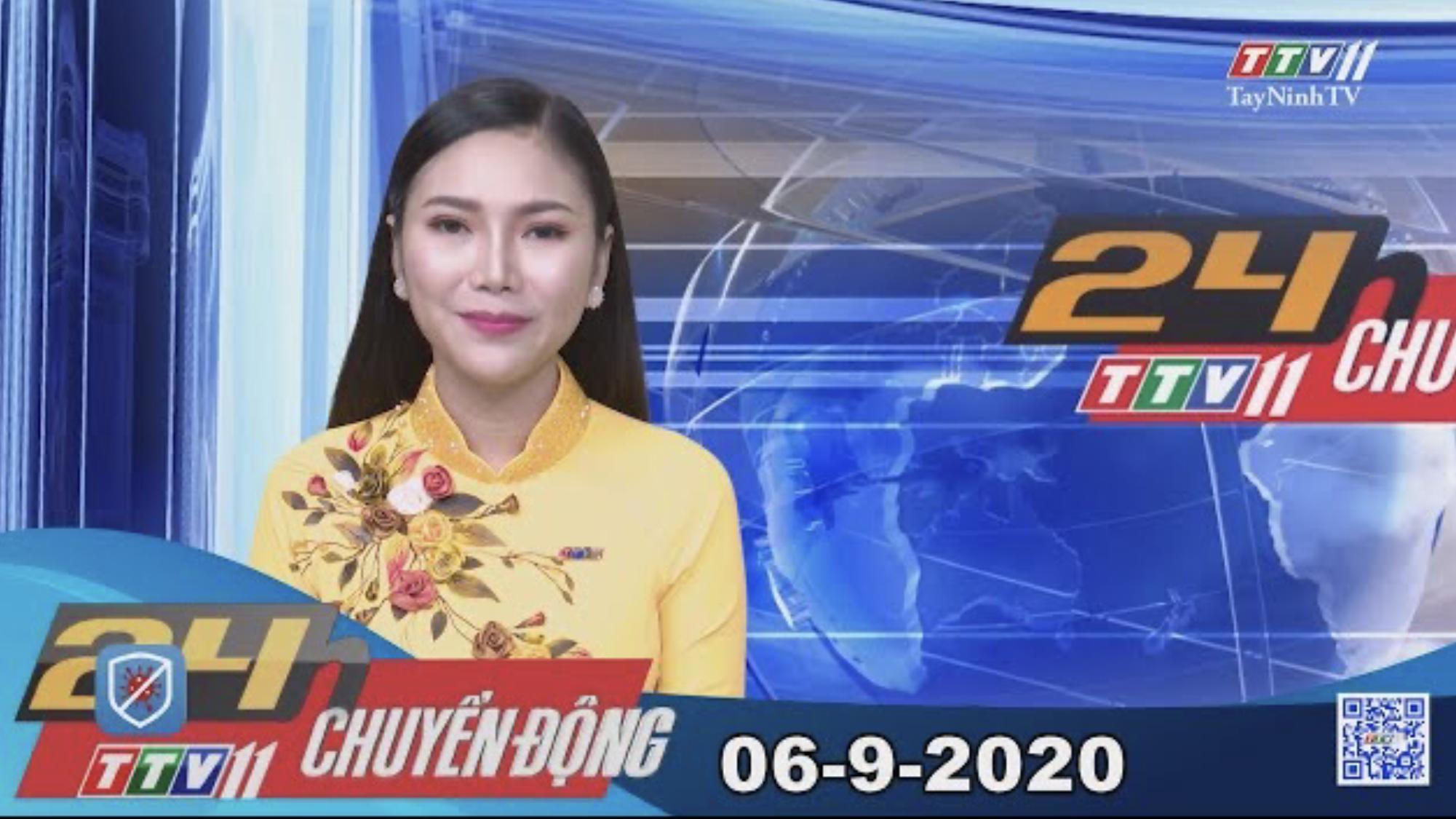 24h Chuyển động 06-9-2020 | Tin tức hôm nay | TayNinhTV