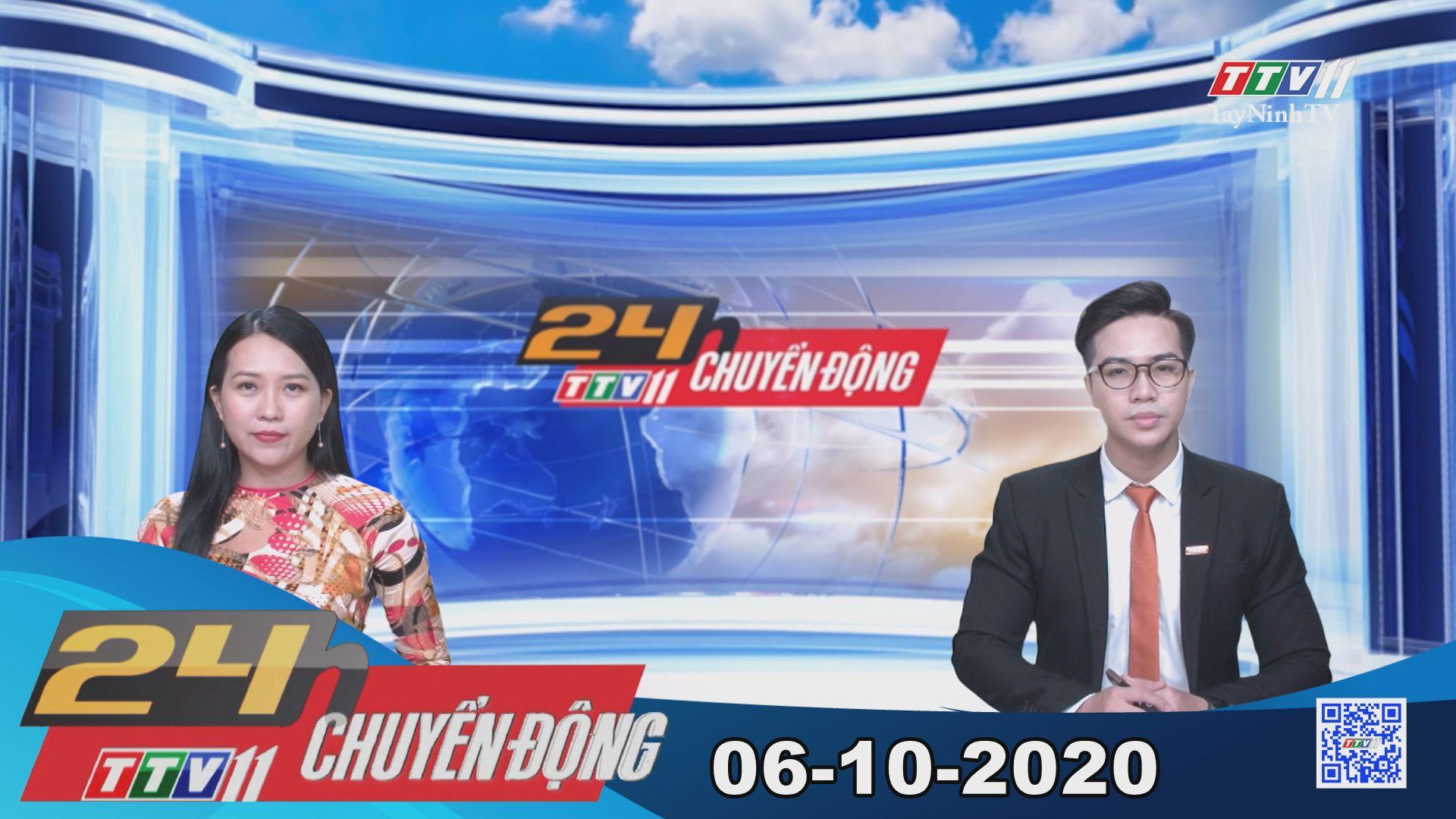 24h Chuyển động 06-10-2020 | Tin tức hôm nay | TayNinhTV