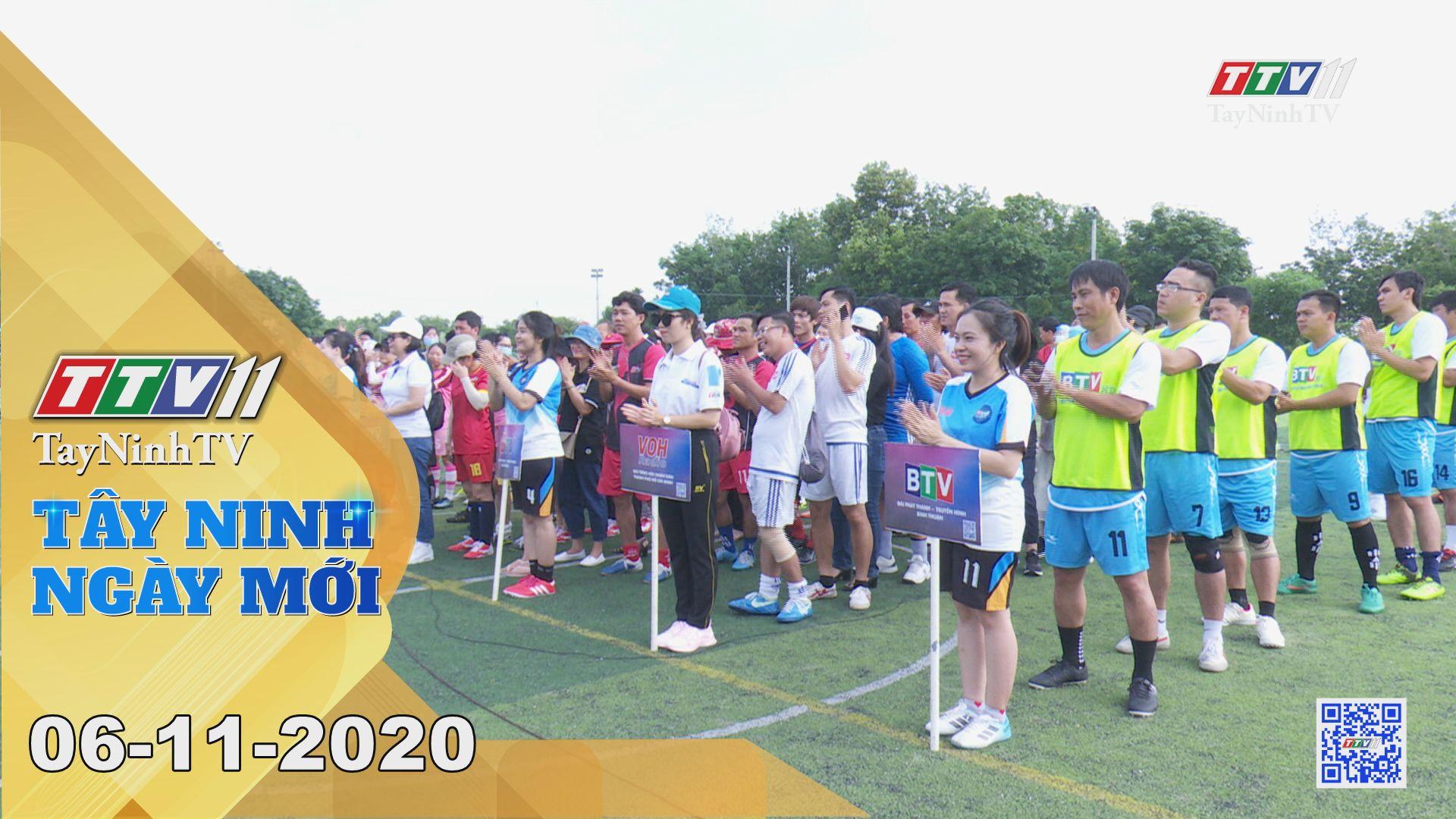 Tây Ninh Ngày Mới 06-11-2020 | Tin tức hôm nay | TayNinhTV