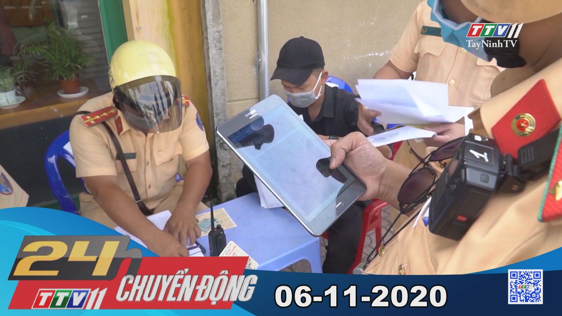 24h Chuyển động 06-11-2020 | Tin tức hôm nay | TayNinhTV
