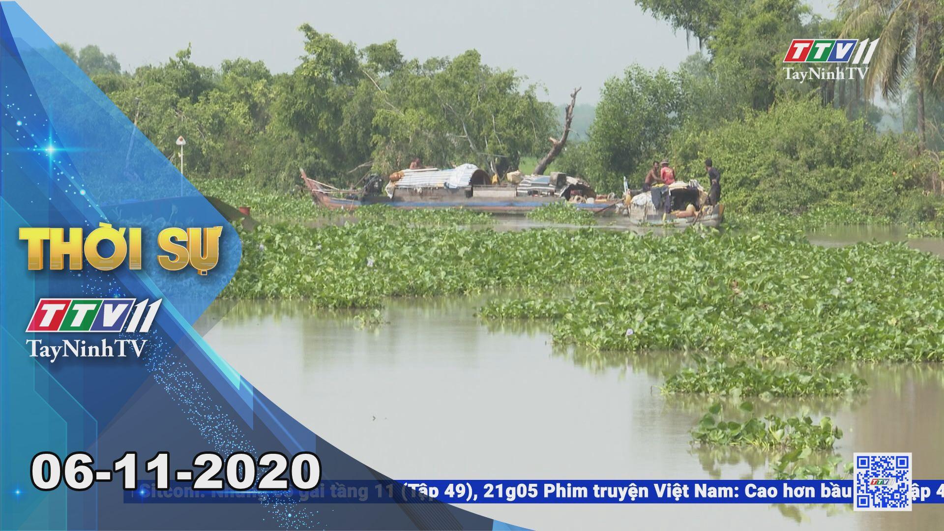 Thời sự Tây Ninh 06-11-2020 | Tin tức hôm nay | TayNinhTV