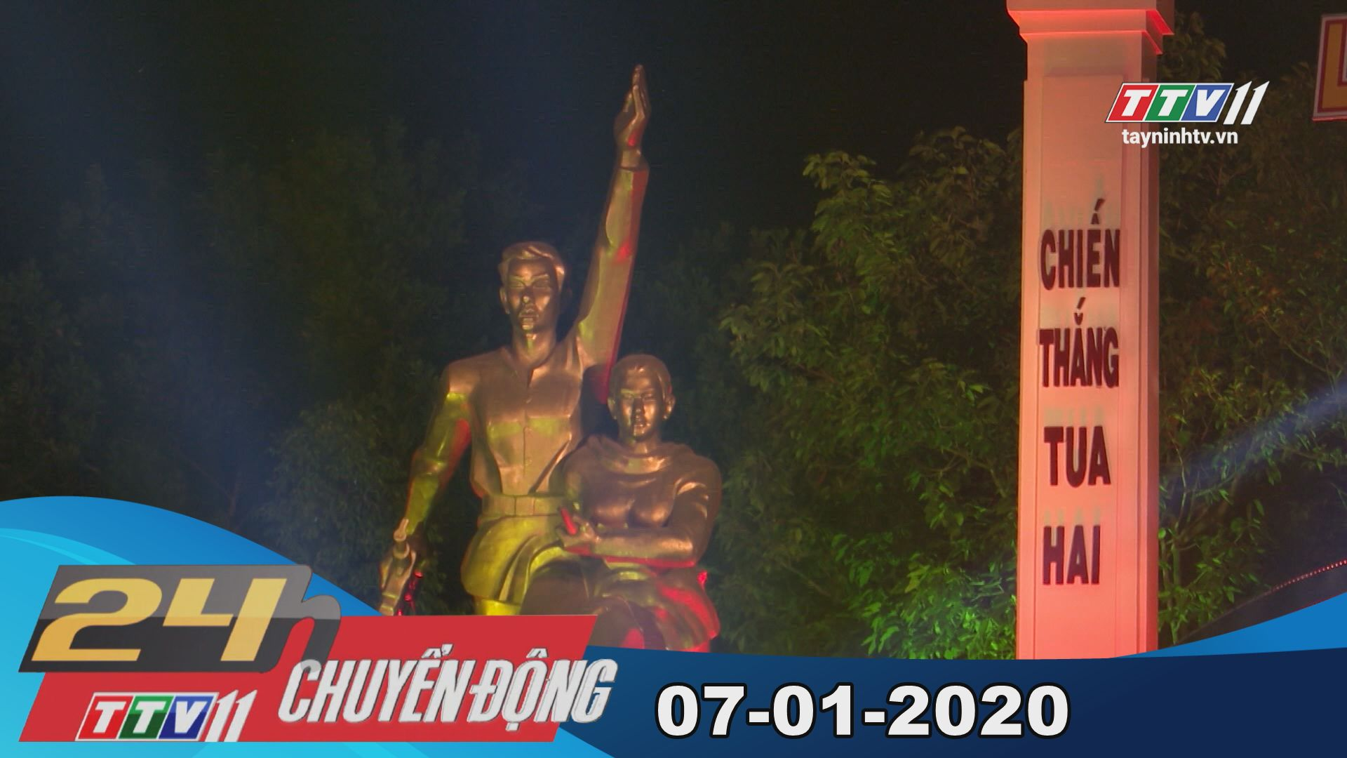 24h Chuyển động 07-01-2020 | Tin tức hôm nay | TayNinhTV