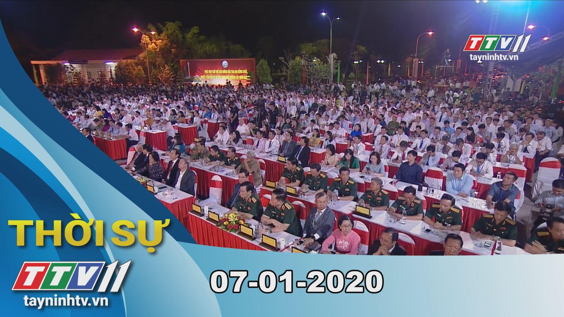 Thời sự Tây Ninh 07-01-2020 | Tin tức hôm nay | TayNinhTV