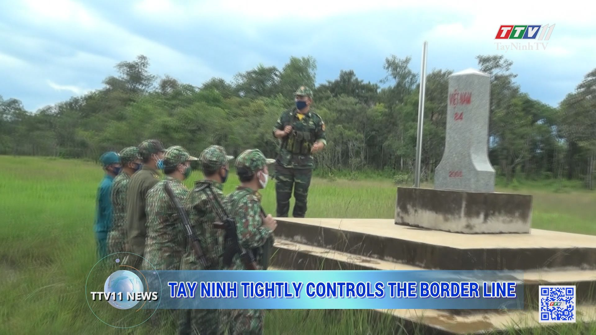 Tay Ninh tightly controls the border line | TTVNEWS | TayNinhTV Today