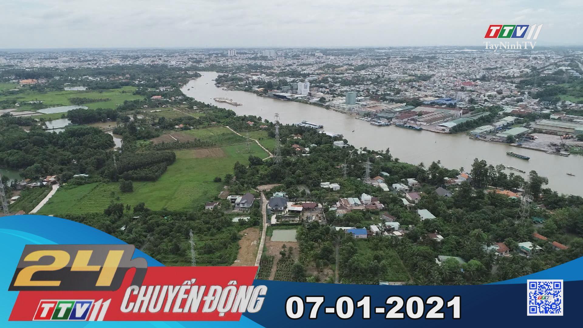 24h Chuyển động 07-01-2021 | Tin tức hôm nay | TayNinhTV