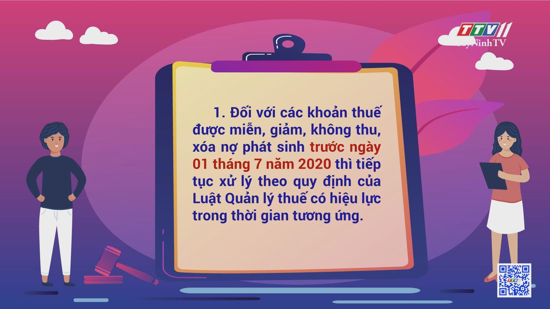 Một số nội dung mới của Nghị định số 126/2020/NĐ-CP Luật Quản lý thuế | THÔNG TIN PHÁP LUẬT THUẾ | TayNinhTV