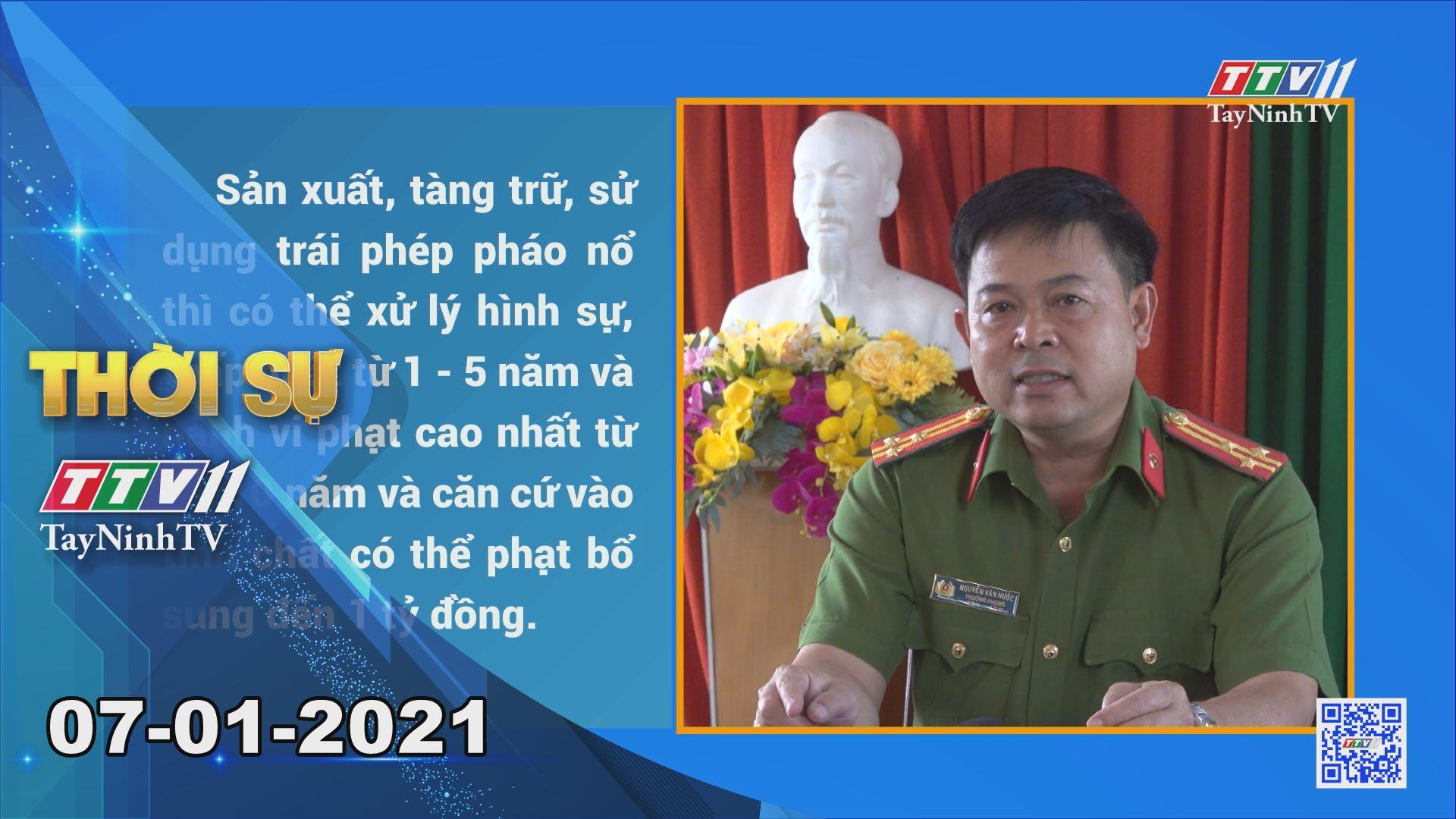 Thời sự Tây Ninh 07-01-2021 | Tin tức hôm nay | TayNinhTV