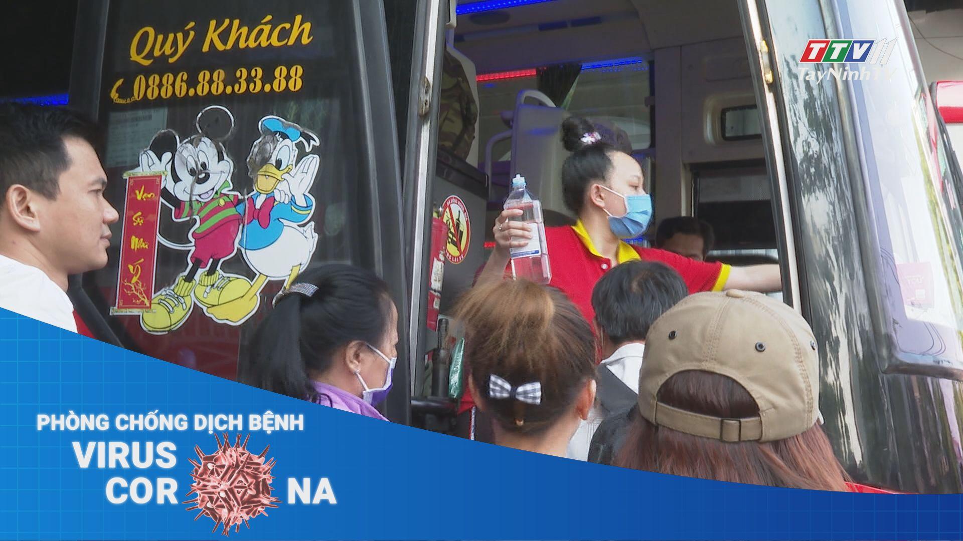Lo ngại nhiễm bệnh viêm phổi cấp nCoV khi ra bến xe đông người   Thời sự Tây Ninh   TayNinhTV