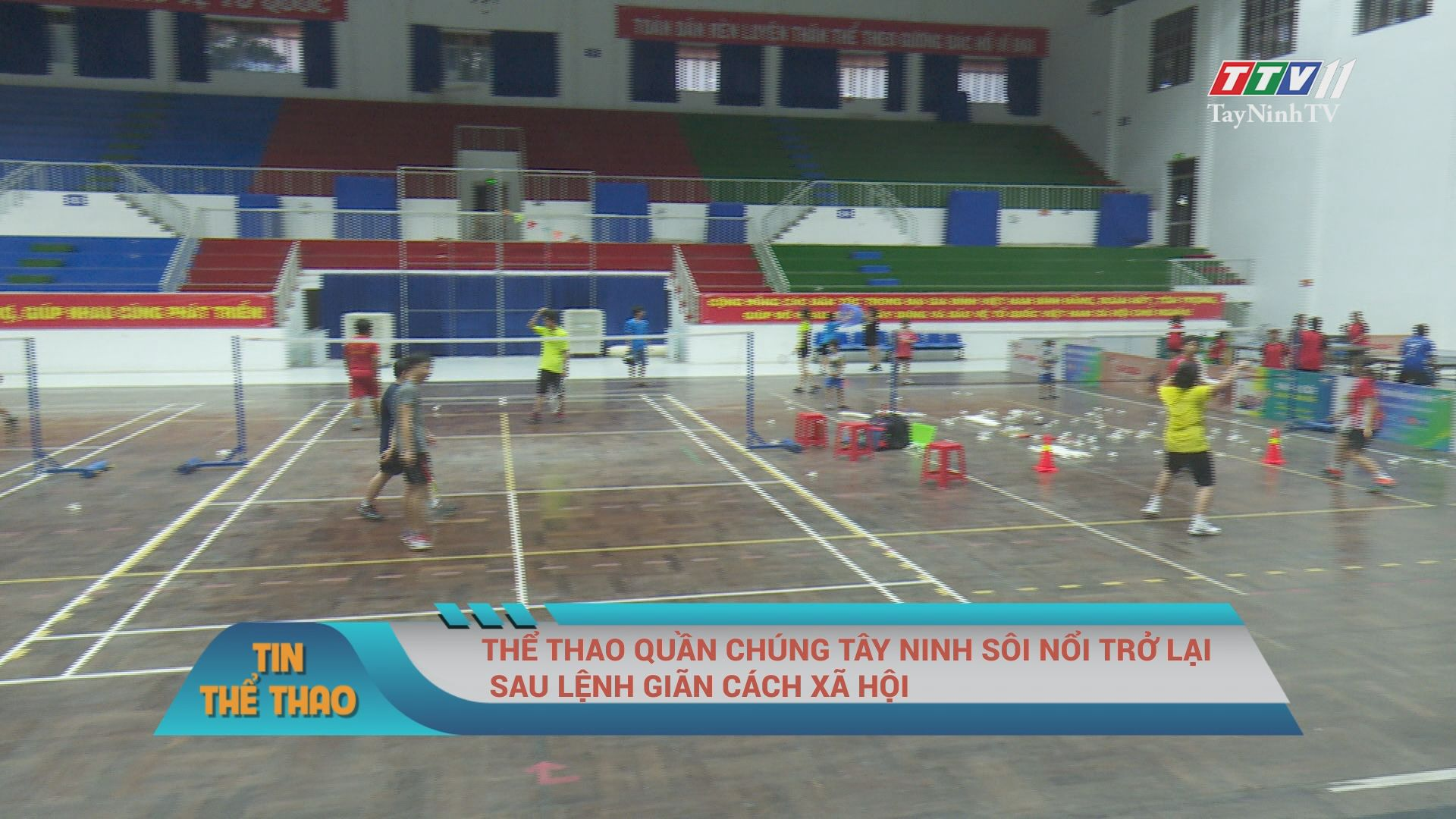 Thể thao quần chúng Tây Ninh sôi nổi trở lại sau lệnh giãn cách xã hội | TIN THỂ THAO | TayNinhTV