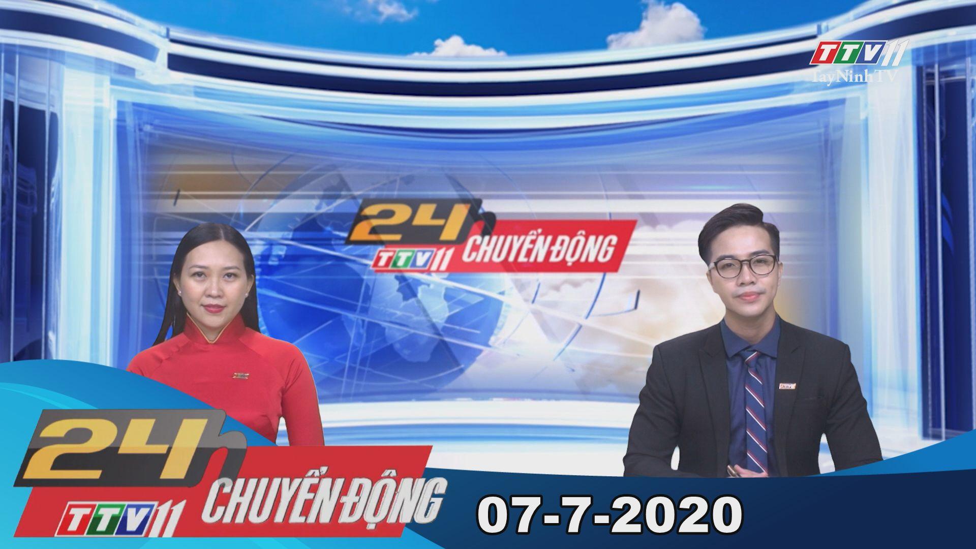 24h Chuyển động 07-7-2020 | Tin tức hôm nay | TayNinhTV