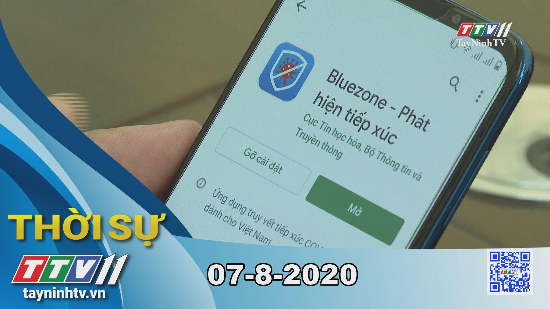 Thời sự Tây Ninh 07-8-2020 | Tin tức hôm nay | TayNinhTV