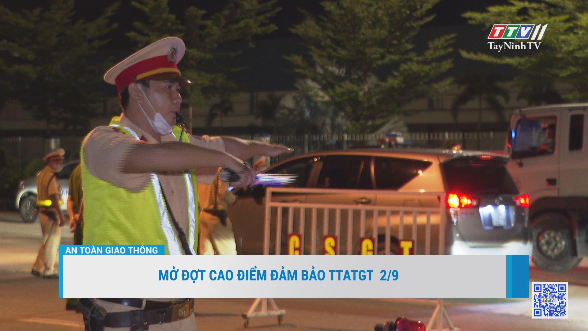 Tai nạn giao thông 8 tháng đầu năm được kéo giảm | AN TOÀN GIAO THÔNG | TayNinhTV