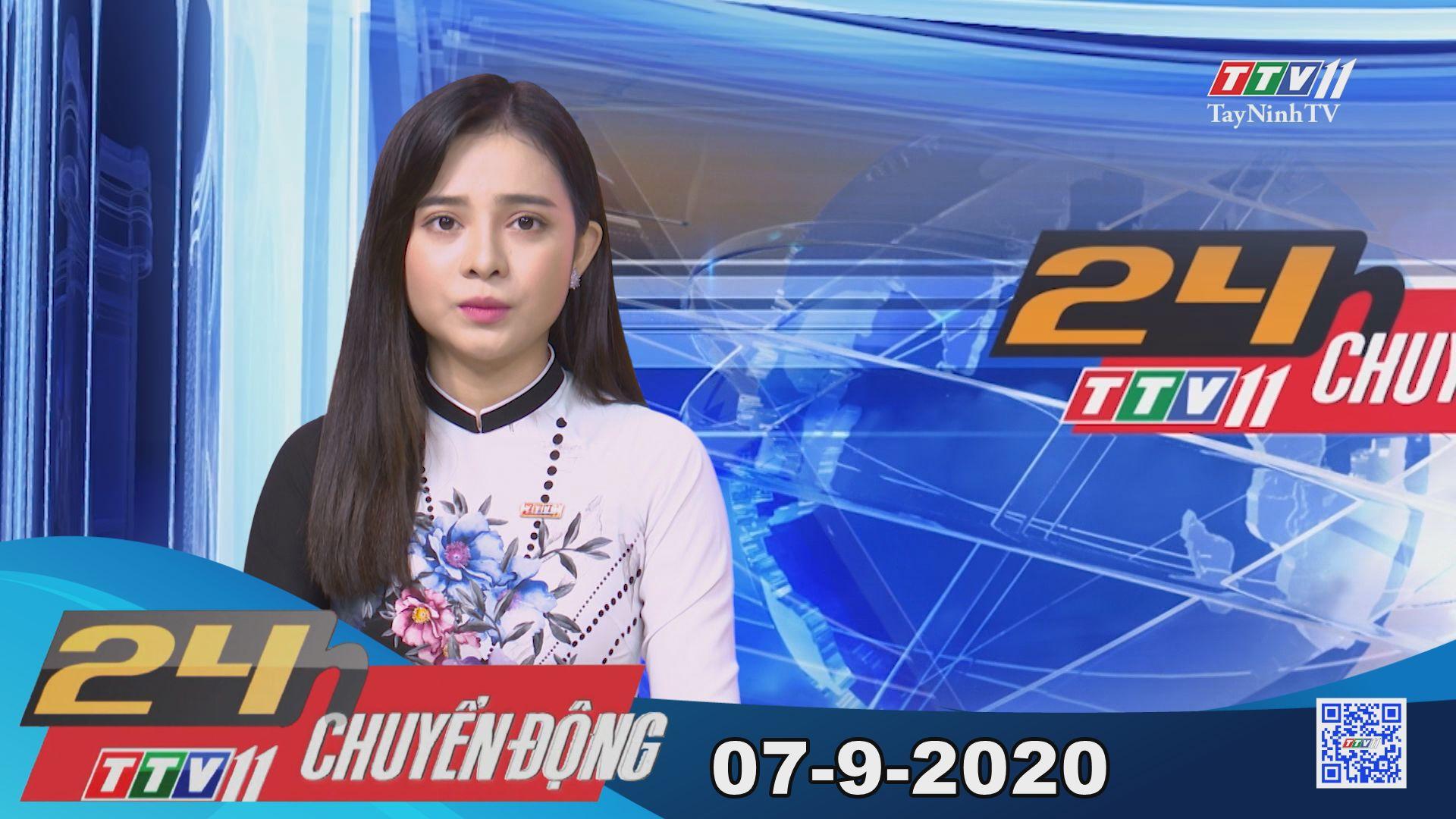 24h Chuyển động 07-9-2020 | Tin tức hôm nay | TayNinhTV