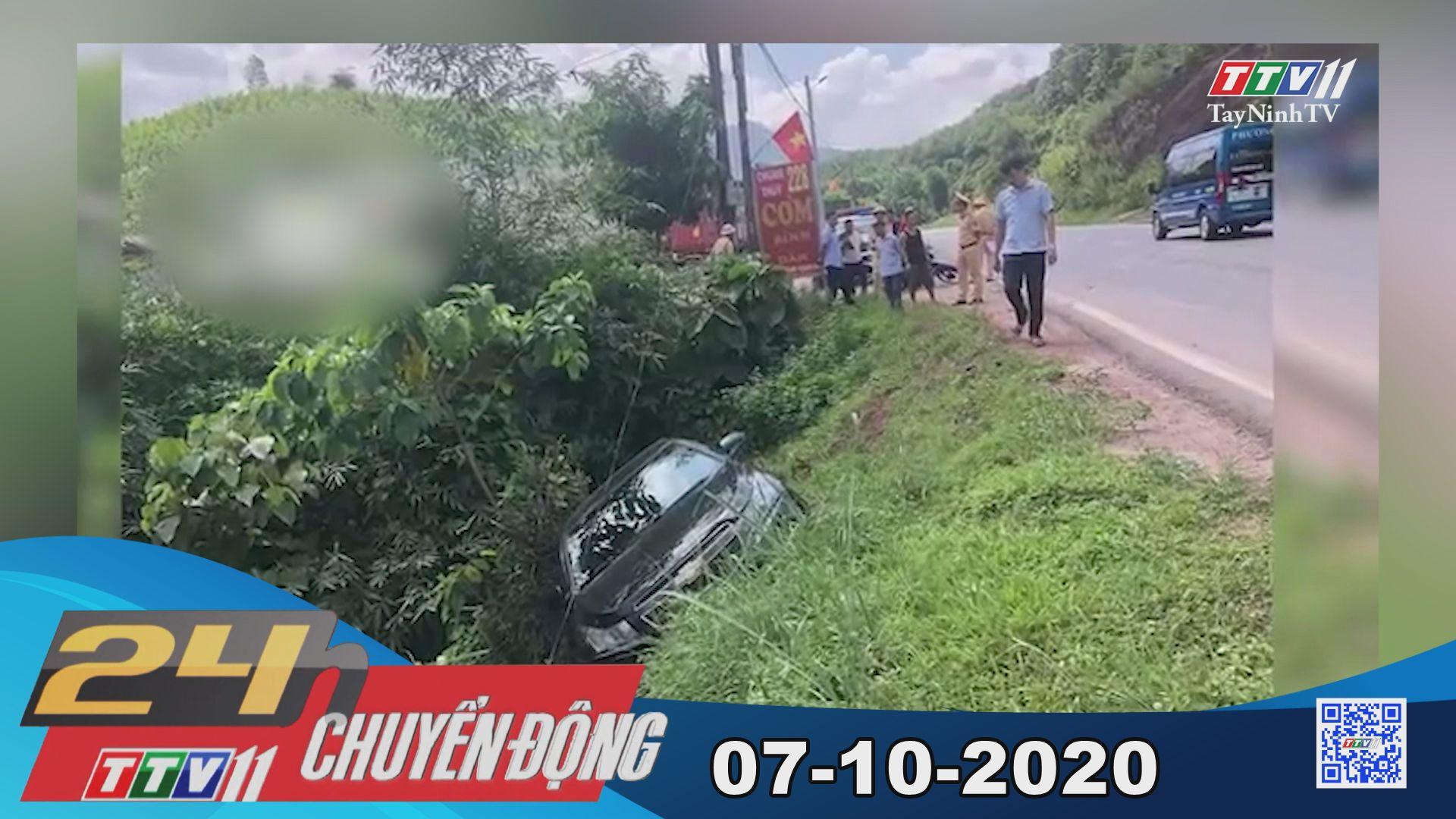 24h Chuyển động 07-10-2020 | Tin tức hôm nay | TayNinhTV