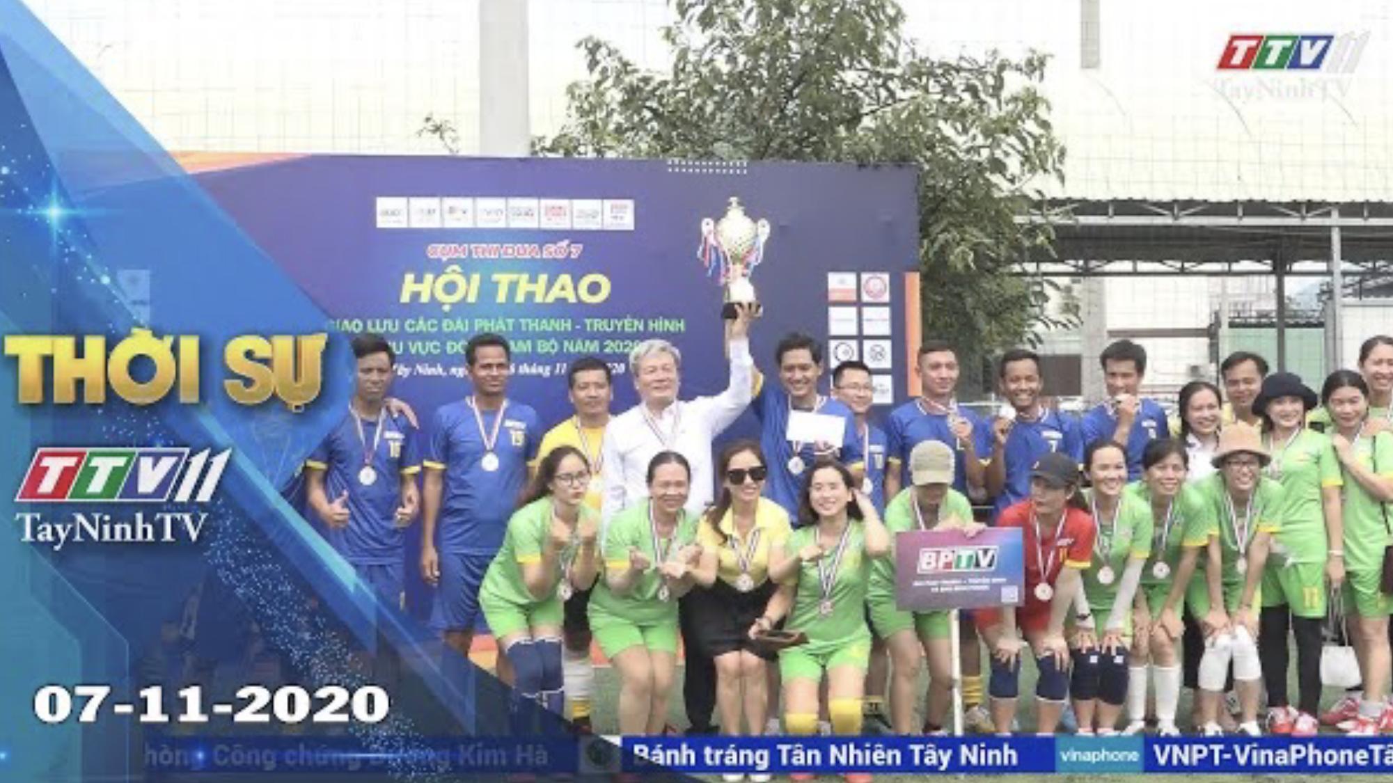 Thời sự Tây Ninh 07-11-2020 | Tin tức hôm nay | TayNinhTV