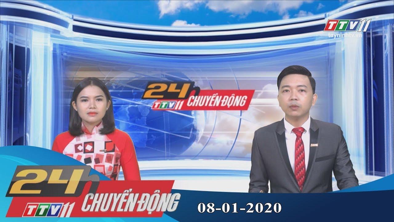 24h Chuyển động 08-01-2020 | Tin tức hôm nay | TayNinhTV