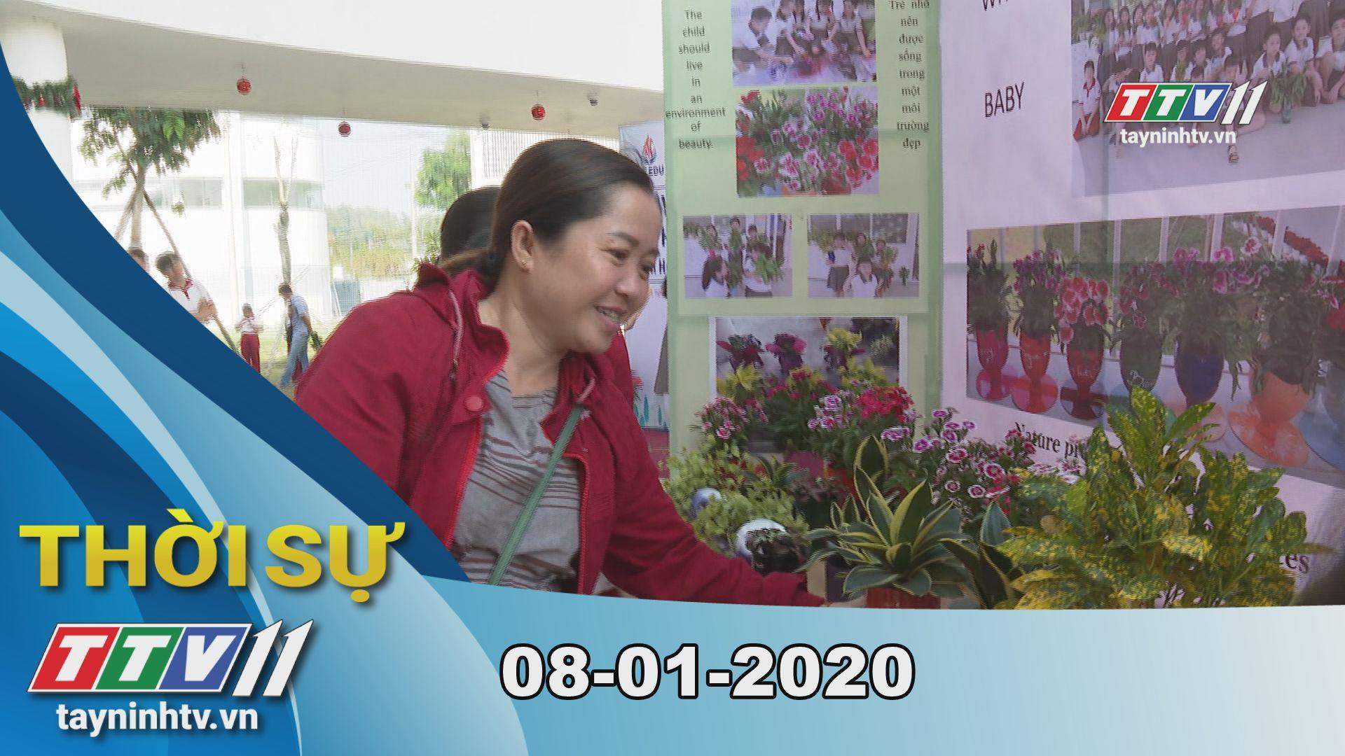 Thời sự Tây Ninh 08-01-2020 | Tin tức hôm nay | TayNinhTV