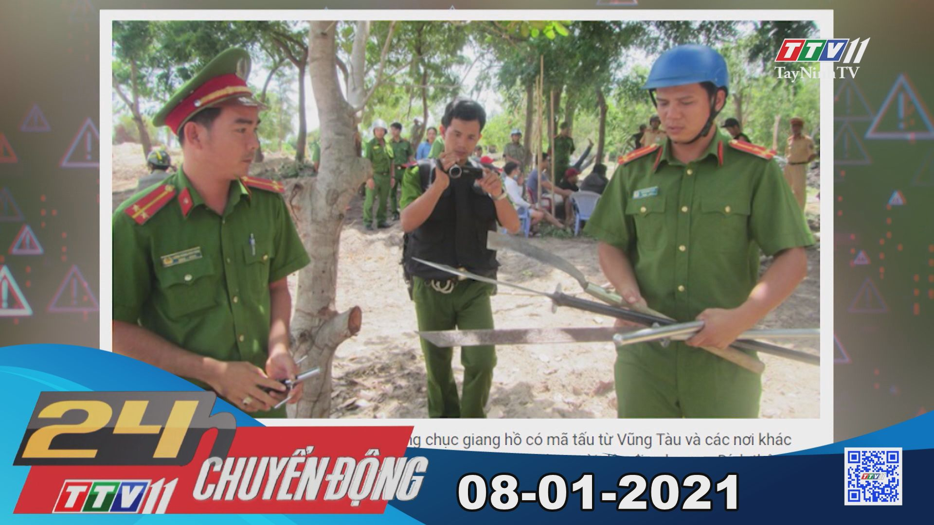 24h Chuyển động 08-01-2021 | Tin tức hôm nay | TayNinhTV