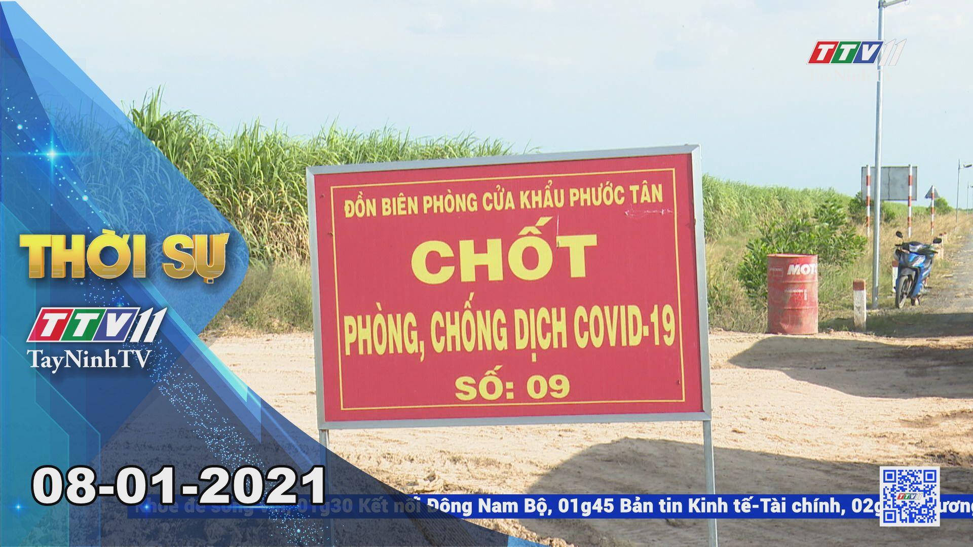 Thời sự Tây Ninh 08-01-2021 | Tin tức hôm nay | TayNinhTV