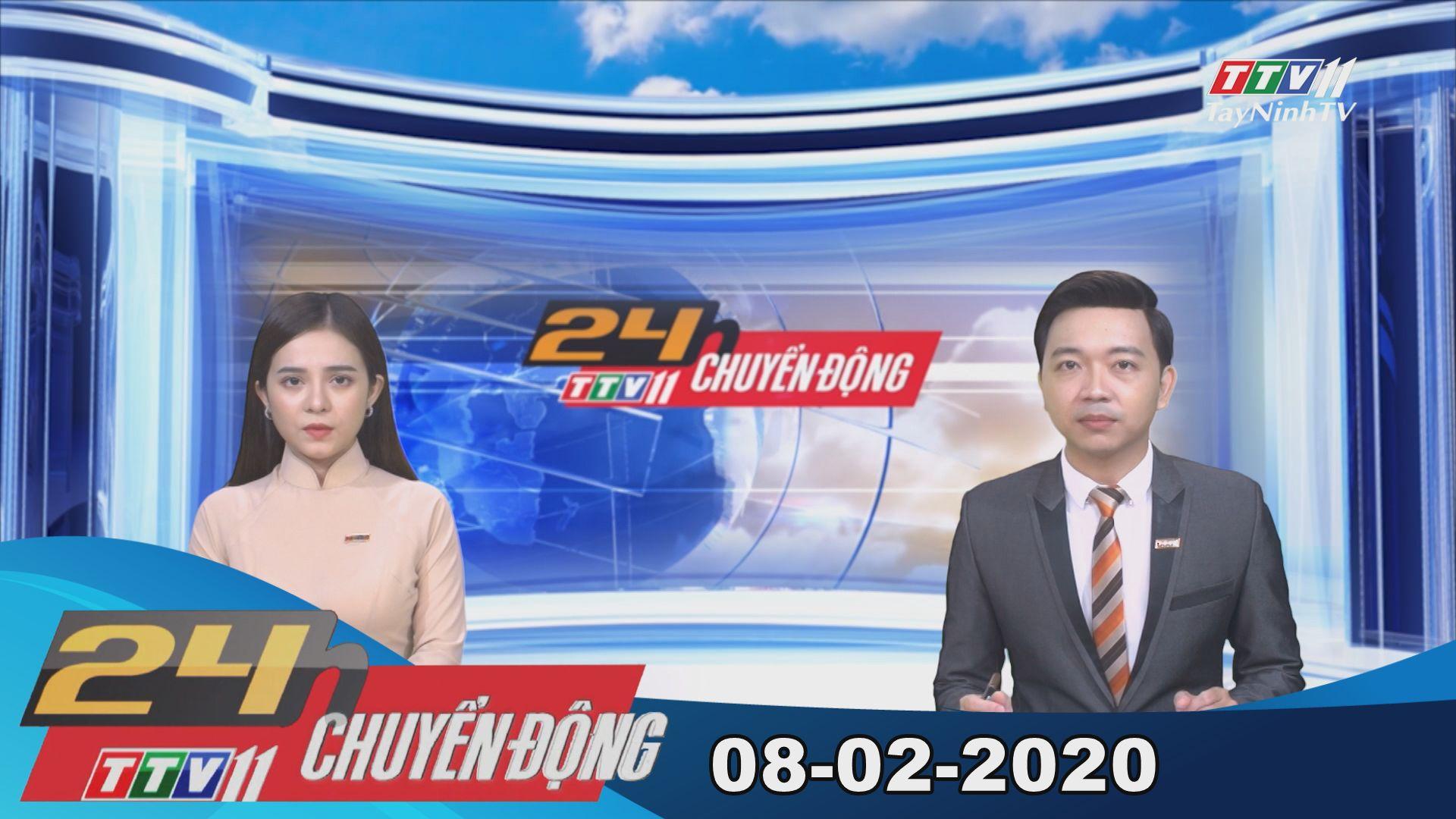 24h Chuyển động 08-02-2020 | Tin tức hôm nay | TayNinhTV