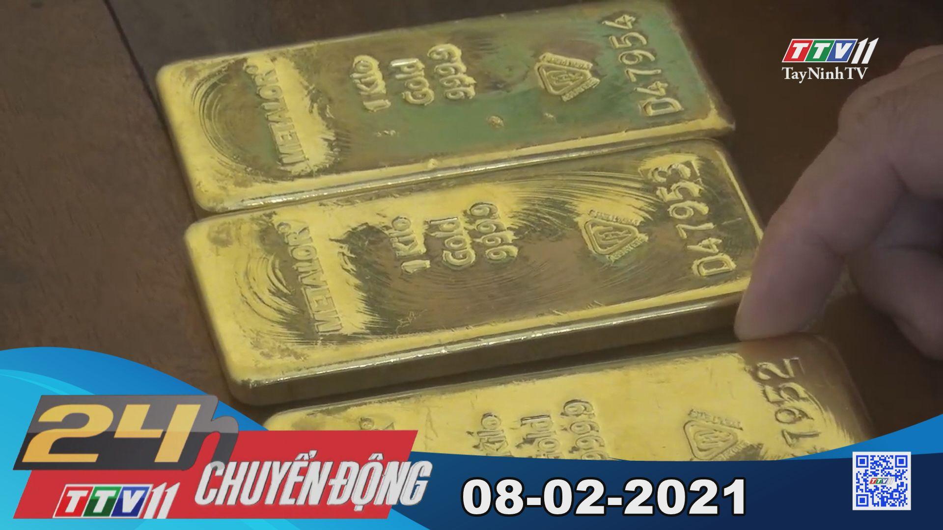 24h Chuyển động 08-02-2021   Tin tức hôm nay   TayNinhTV