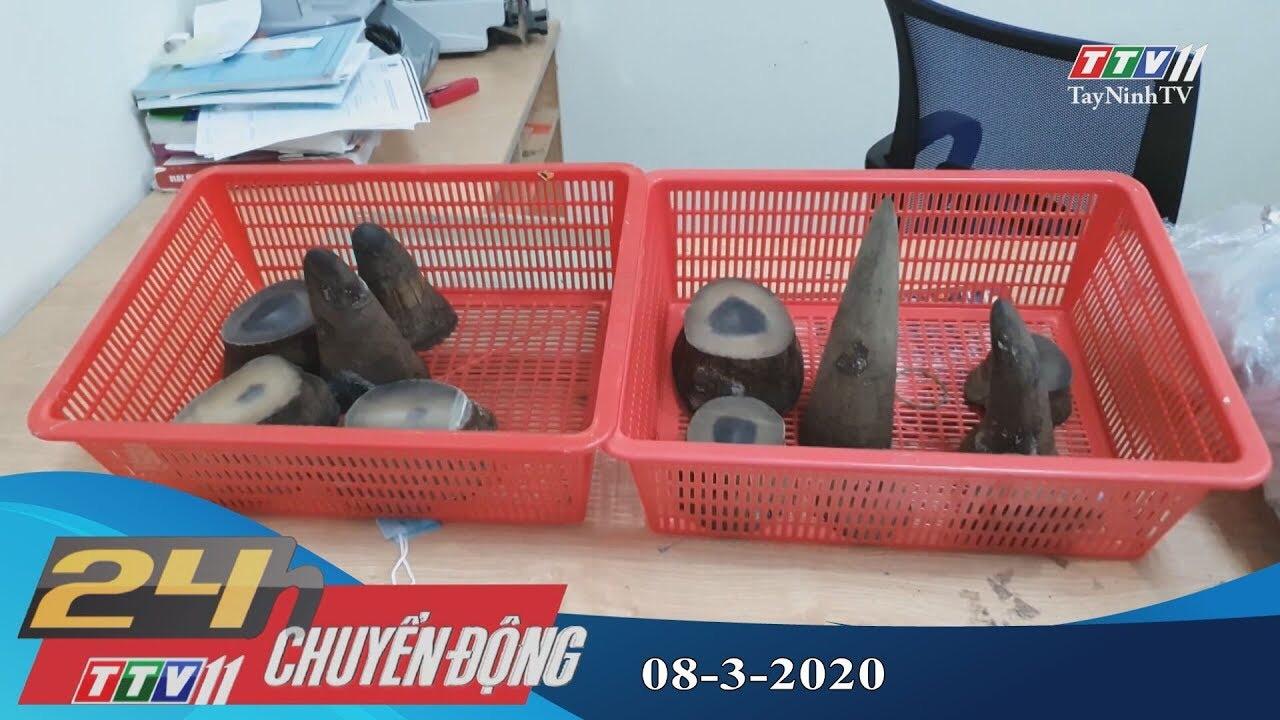 24h Chuyển động 08-3-2020 | Tin tức hôm nay | TayNinhTV