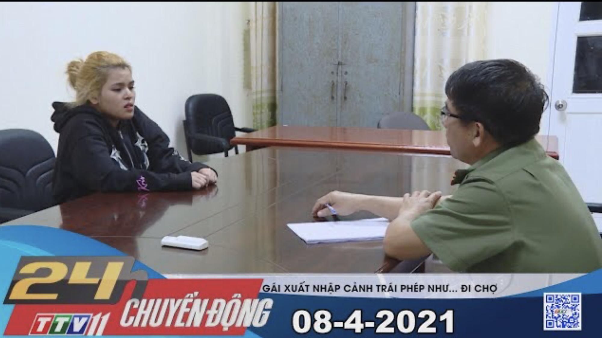 24h Chuyển động 08-4-2021 | Tin tức hôm nay | TayNinhTV