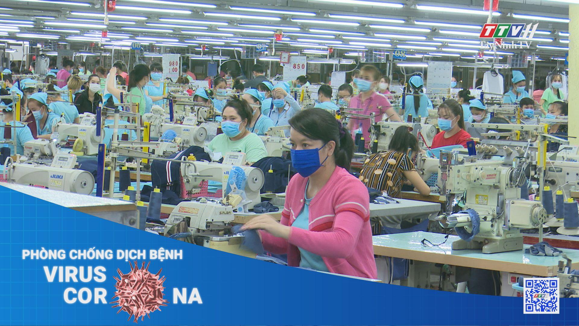 Xử lý khi có ca mắc Covid-19 trong doanh nghiệp, khu công nghiệp | THÔNG TIN DỊCH CÚM COVID-19 | TayNinhTV