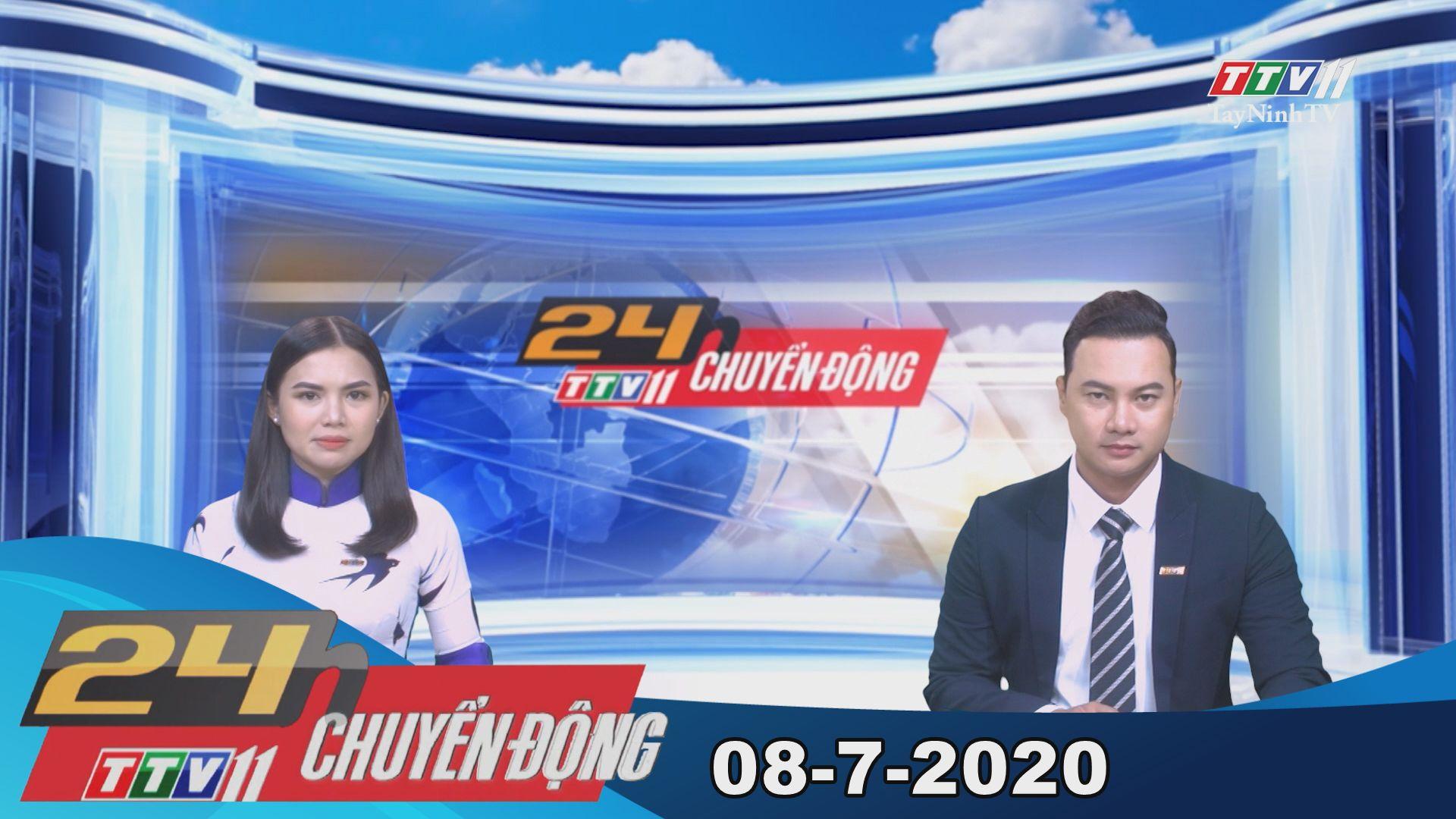 24h Chuyển động 08-7-2020 | Tin tức hôm nay | TayNinhTV