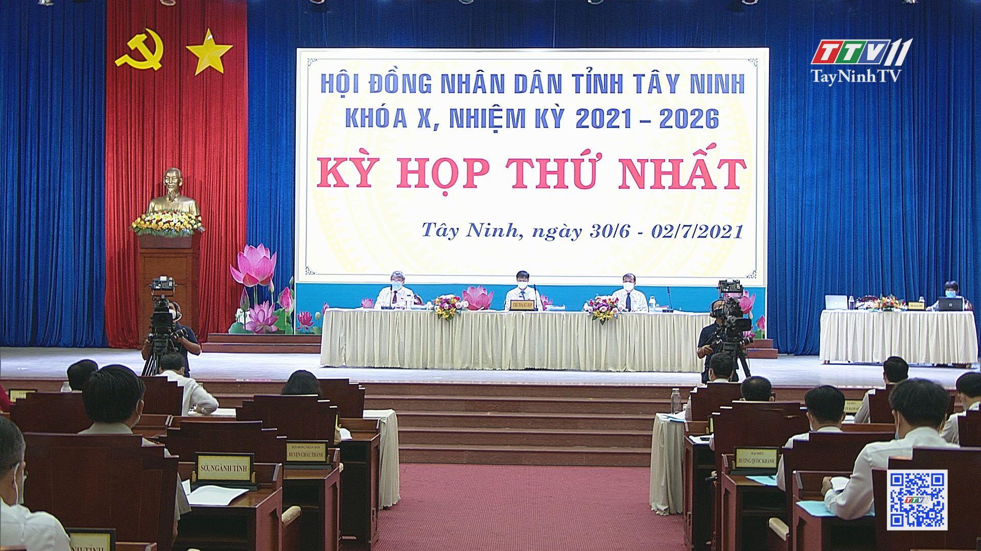 Những kết quả quan trọng kỳ họp thứ nhất HĐND tỉnh Tây Ninh khóa X, nhiệm kỳ 2021-2026 | TIẾNG NÓI CỬ TRI | TayNinhTV