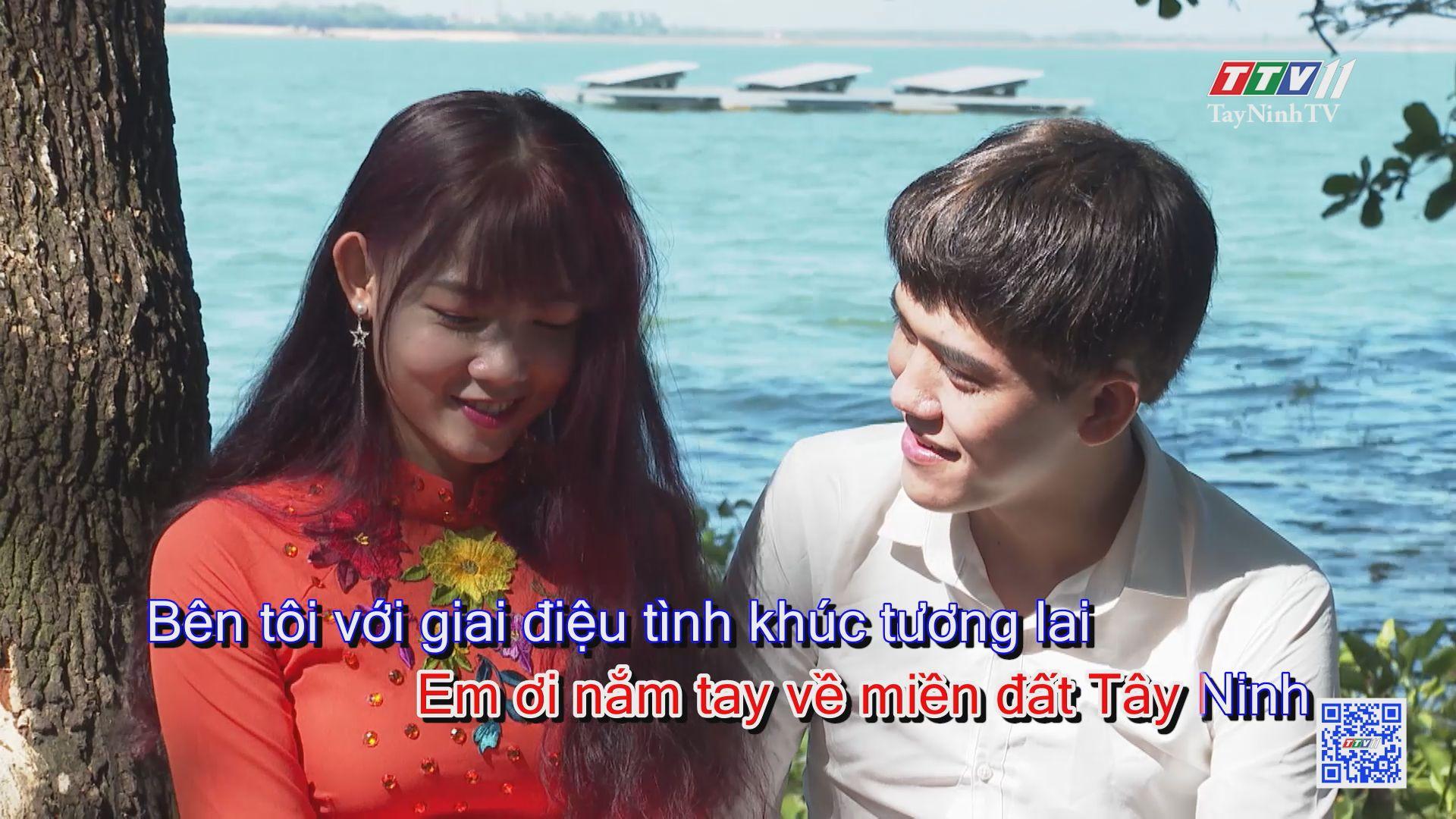 Tình ca bên hồ KARAOKE | Tuyển tập karaoke Tây Ninh tình yêu trong tôi | TayNinhTV