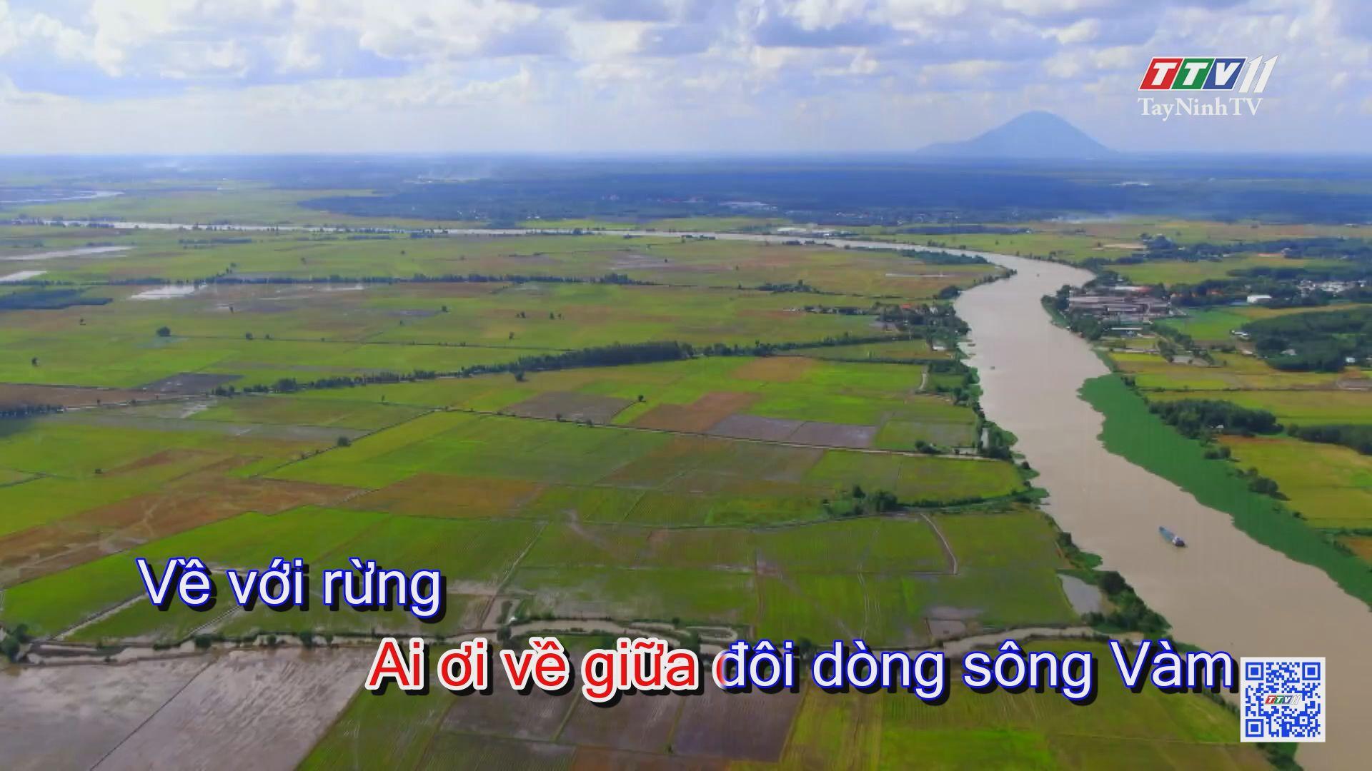 Về giữa đôi dòng sông vàng KARAOKE | Tuyển tập karaoke Tây Ninh tình yêu trong tôi | TayNinhTV