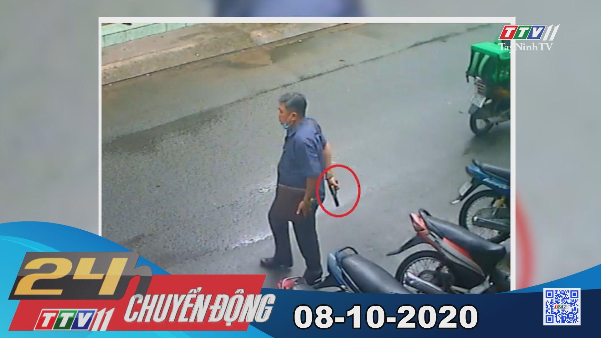 24h Chuyển động 08-10-2020 | Tin tức hôm nay | TayNinhTV