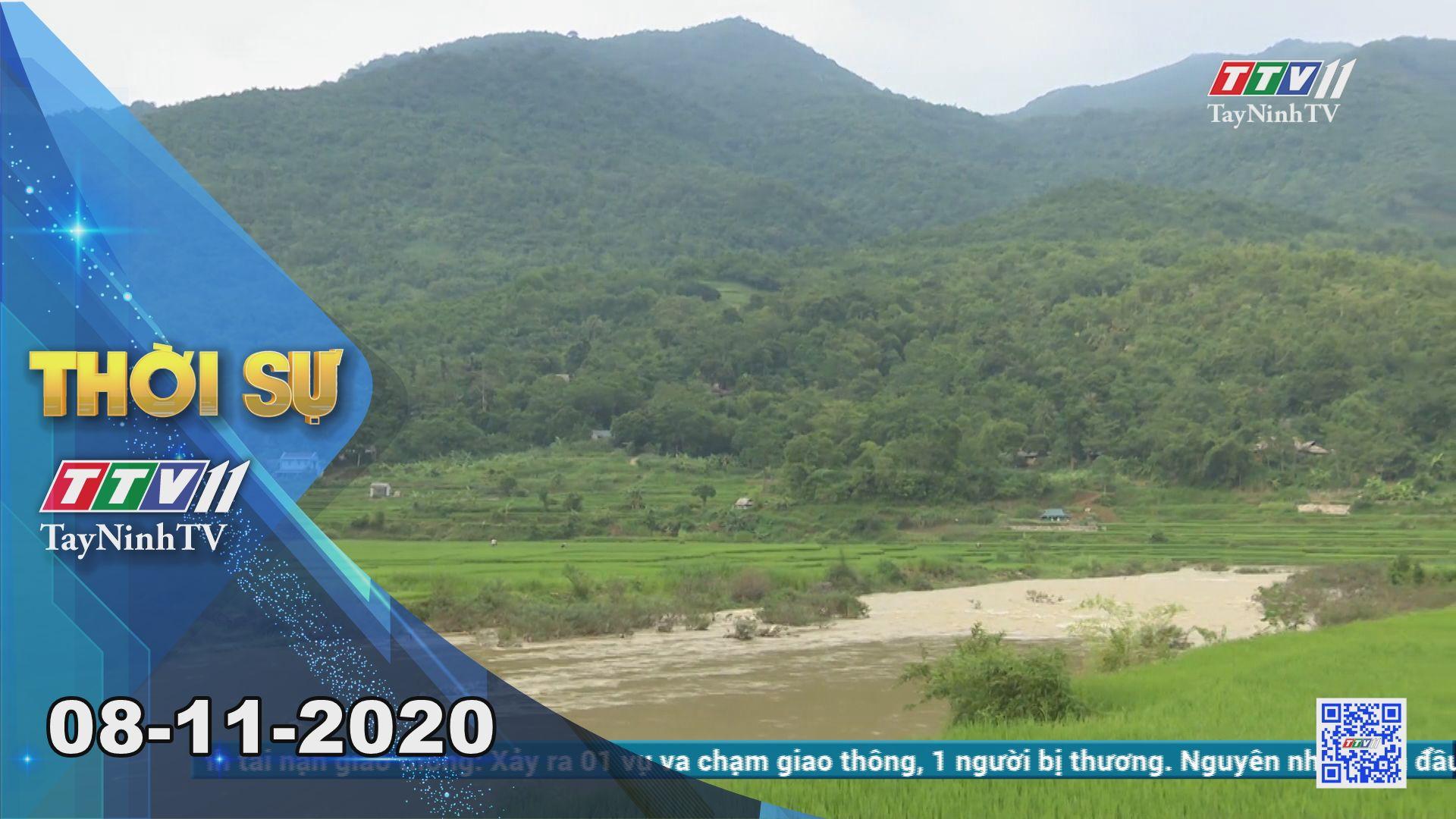 Thời sự Tây Ninh 08-11-2020 | Tin tức hôm nay | TayNinhTV