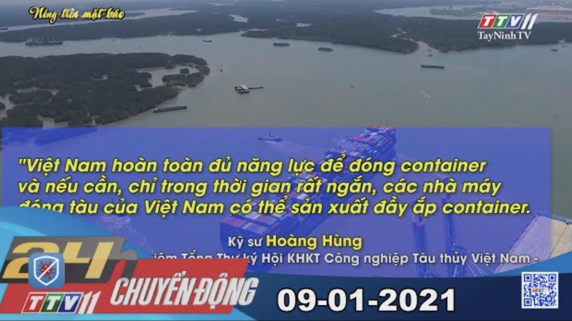 24h Chuyển động 09-01-2021 | Tin tức hôm nay | TayNinhTV