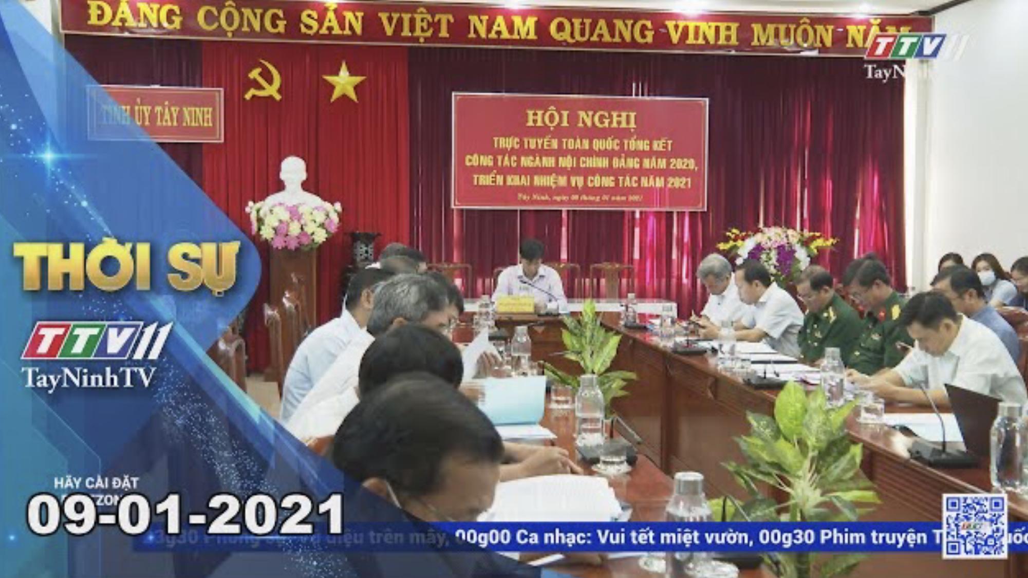 Thời sự Tây Ninh 09-01-2021 | Tin tức hôm nay | TayNinhTV